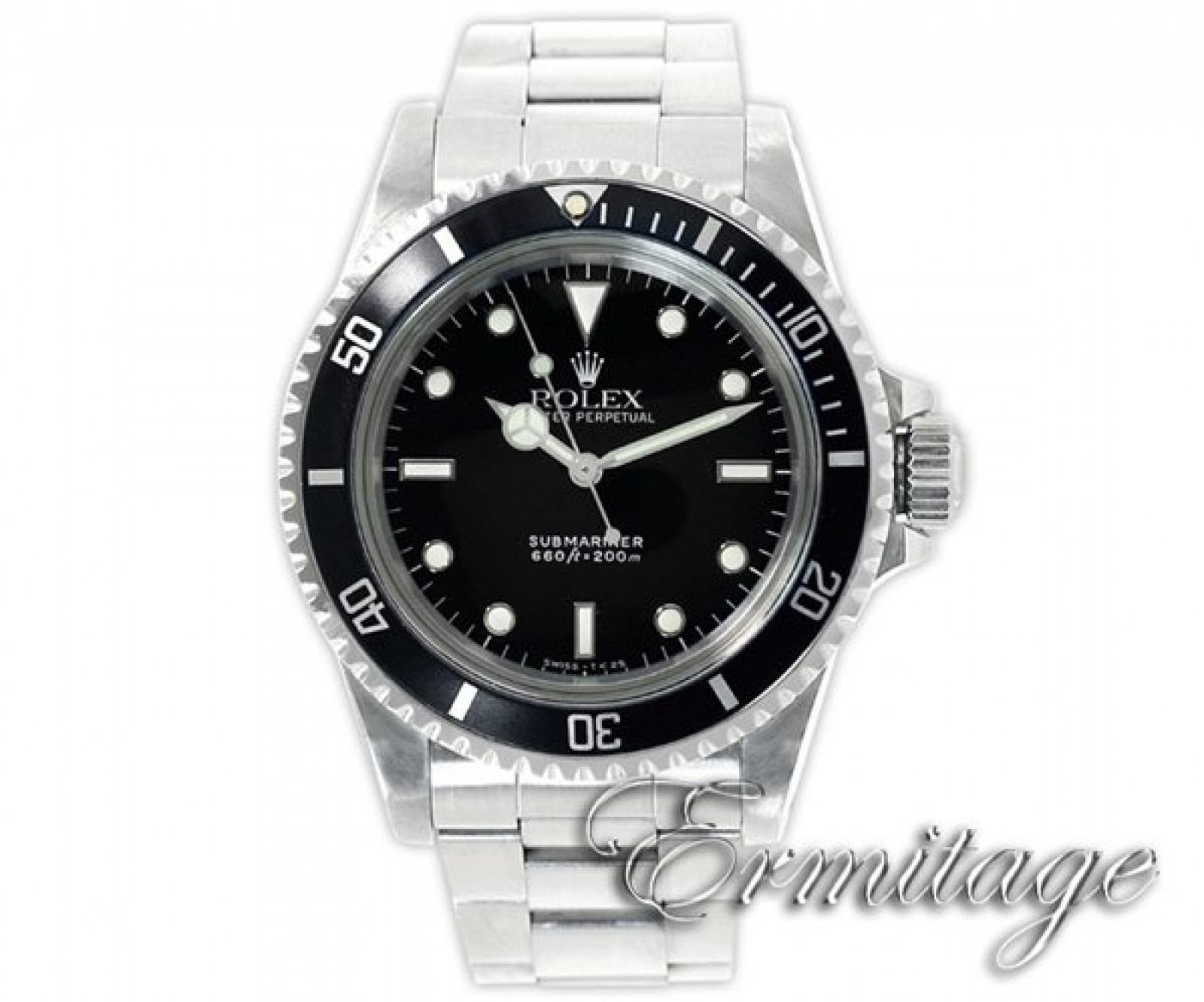 Vintage Rolex Submariner 5513 Steel 1989