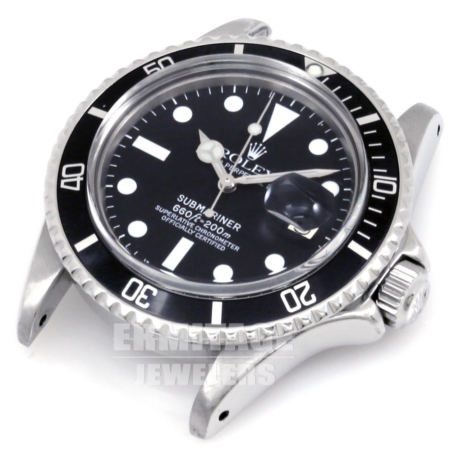 Vintage Black Rolex Submariner 1680