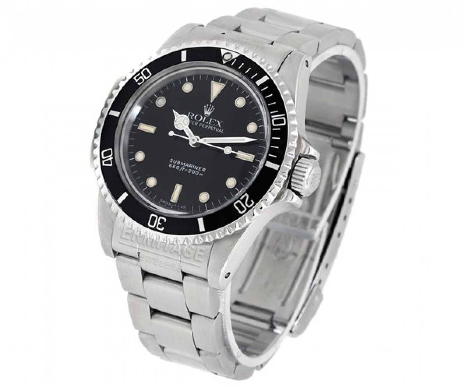 Vintage Rolex Submariner 5513 Steel 1989 40 mm