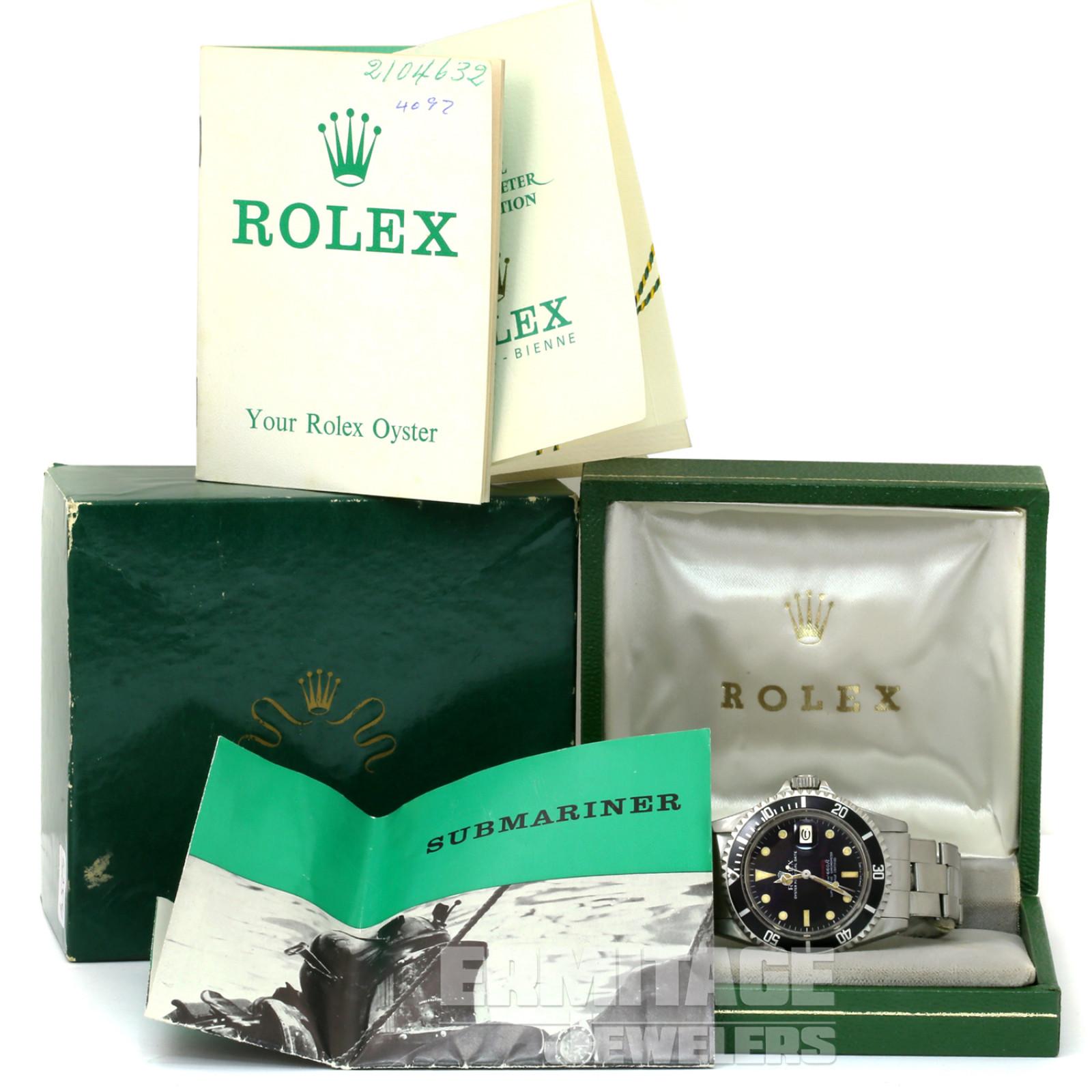 Rare Mark I Rolex Submariner 1680