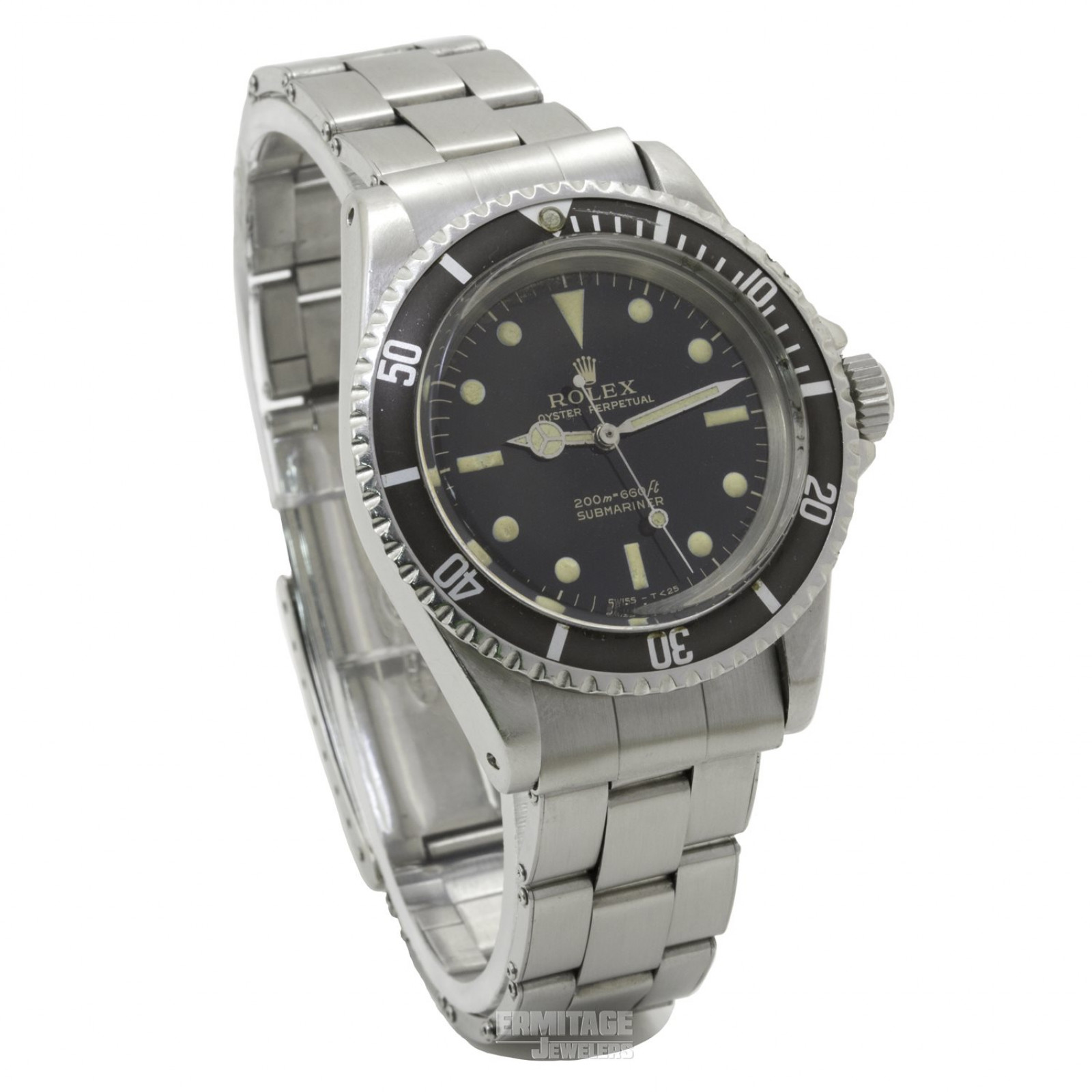 Rolex Submariner 5513 with Gilt Dial 40 mm