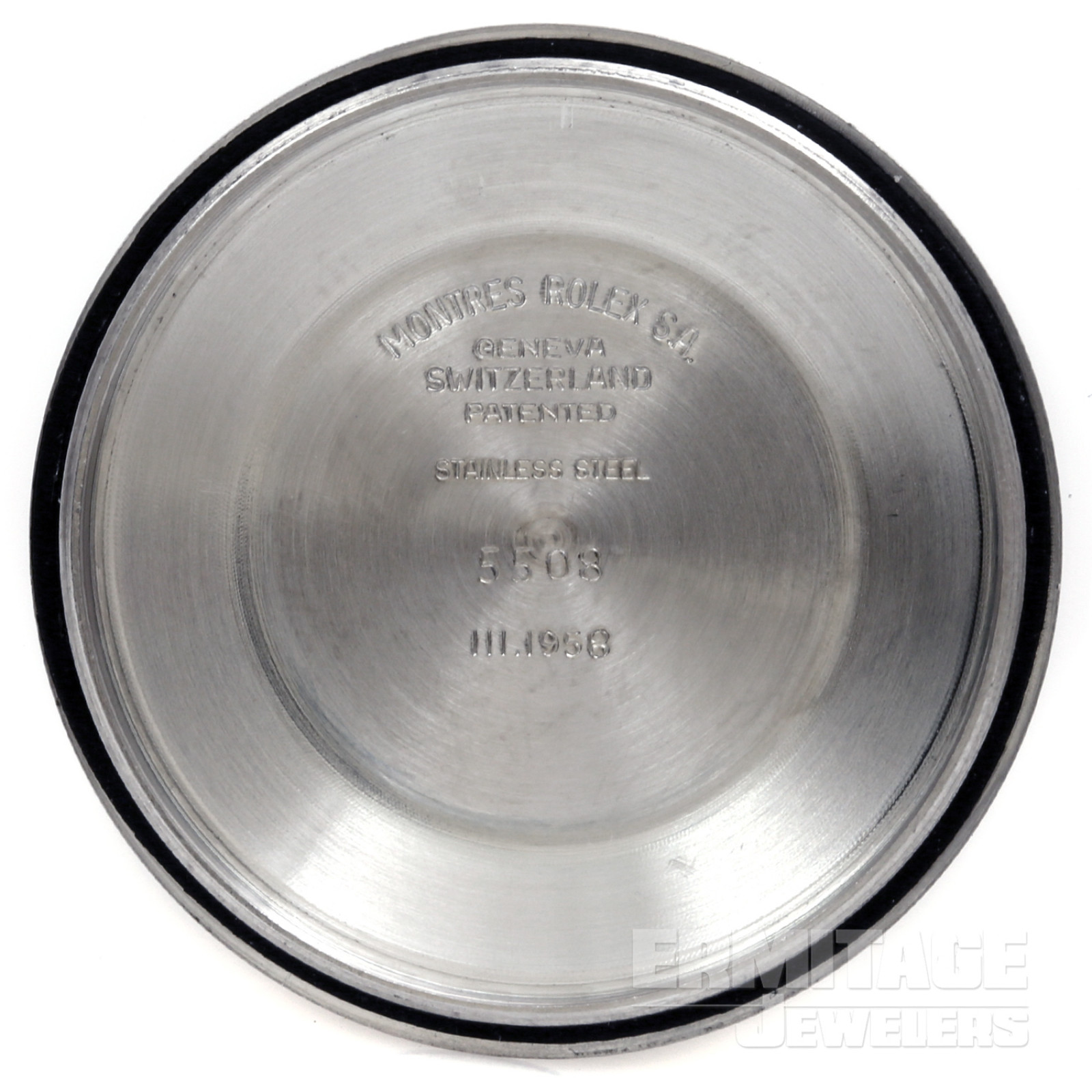 Steel on Oyster Stretch Rolex Submariner 5508 38 mm