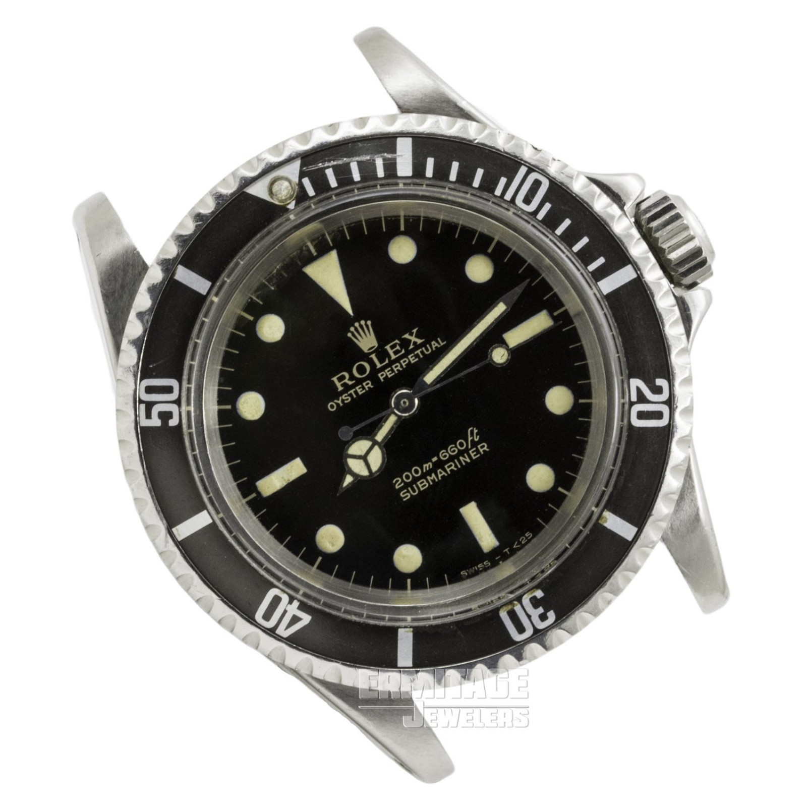 Steel on Riveted Rolex Submariner 5513 40 mm
