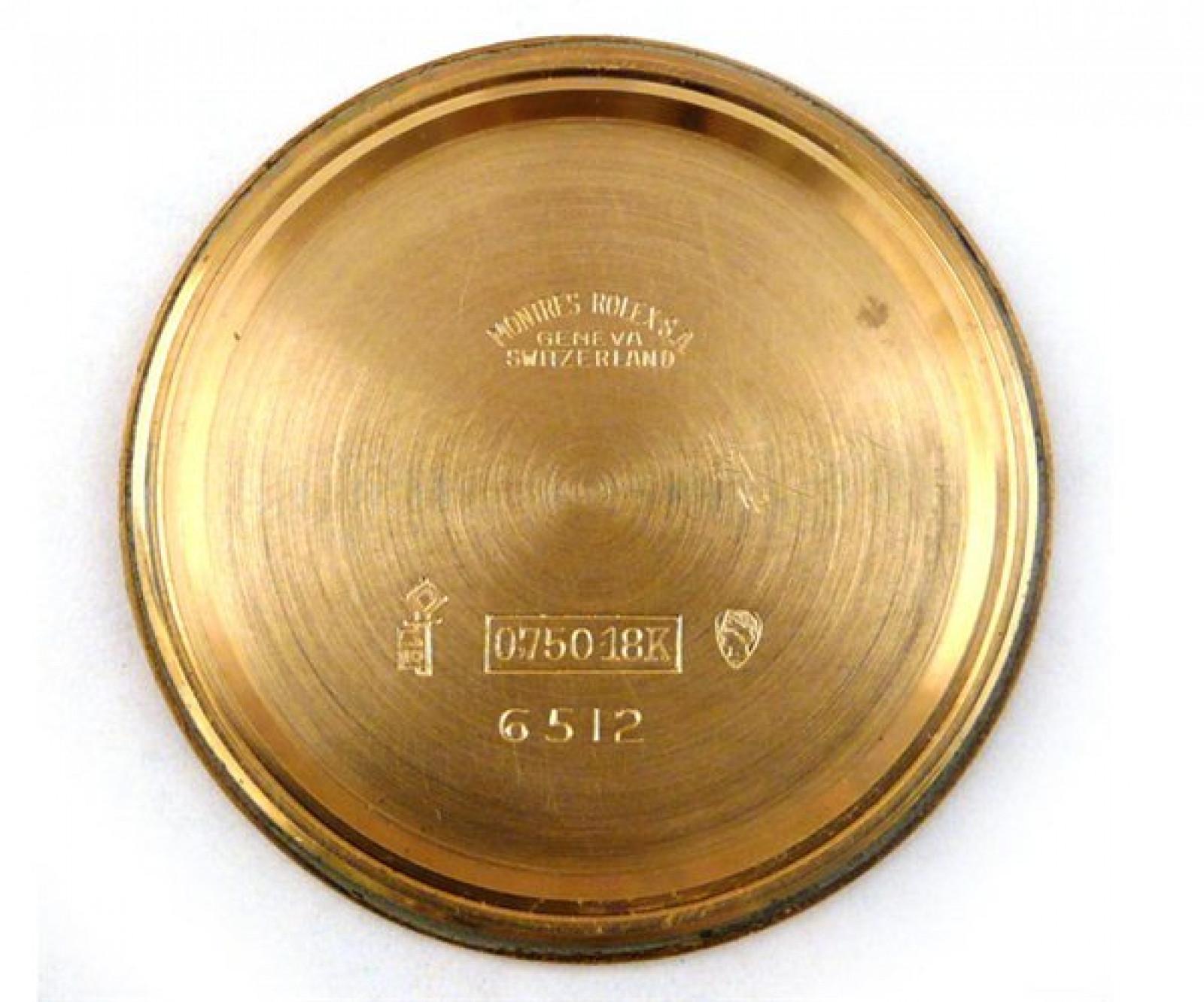 Vintage Rolex Veriflat 6512