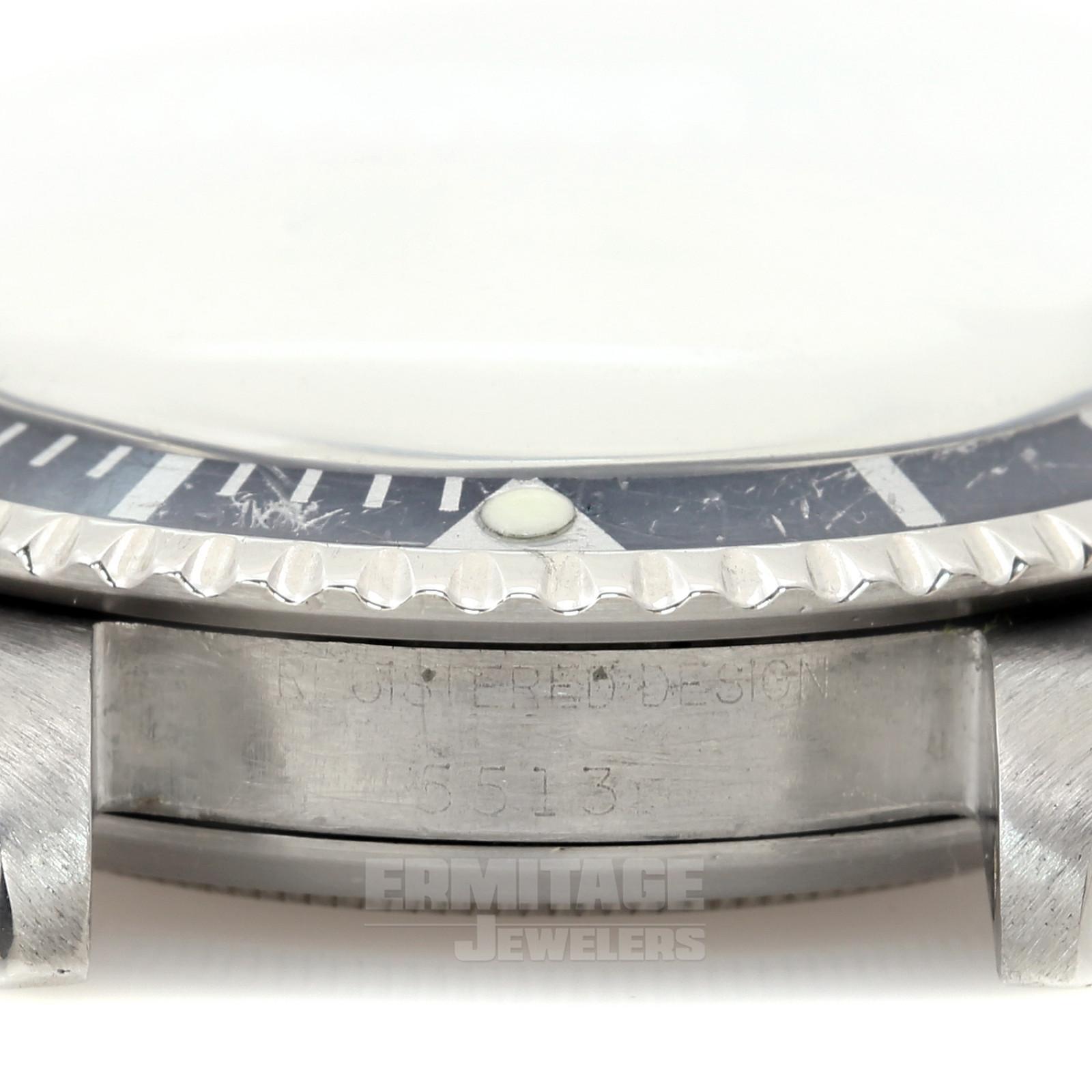 Stainless Steel Rolex Submariner 5513 40 mm