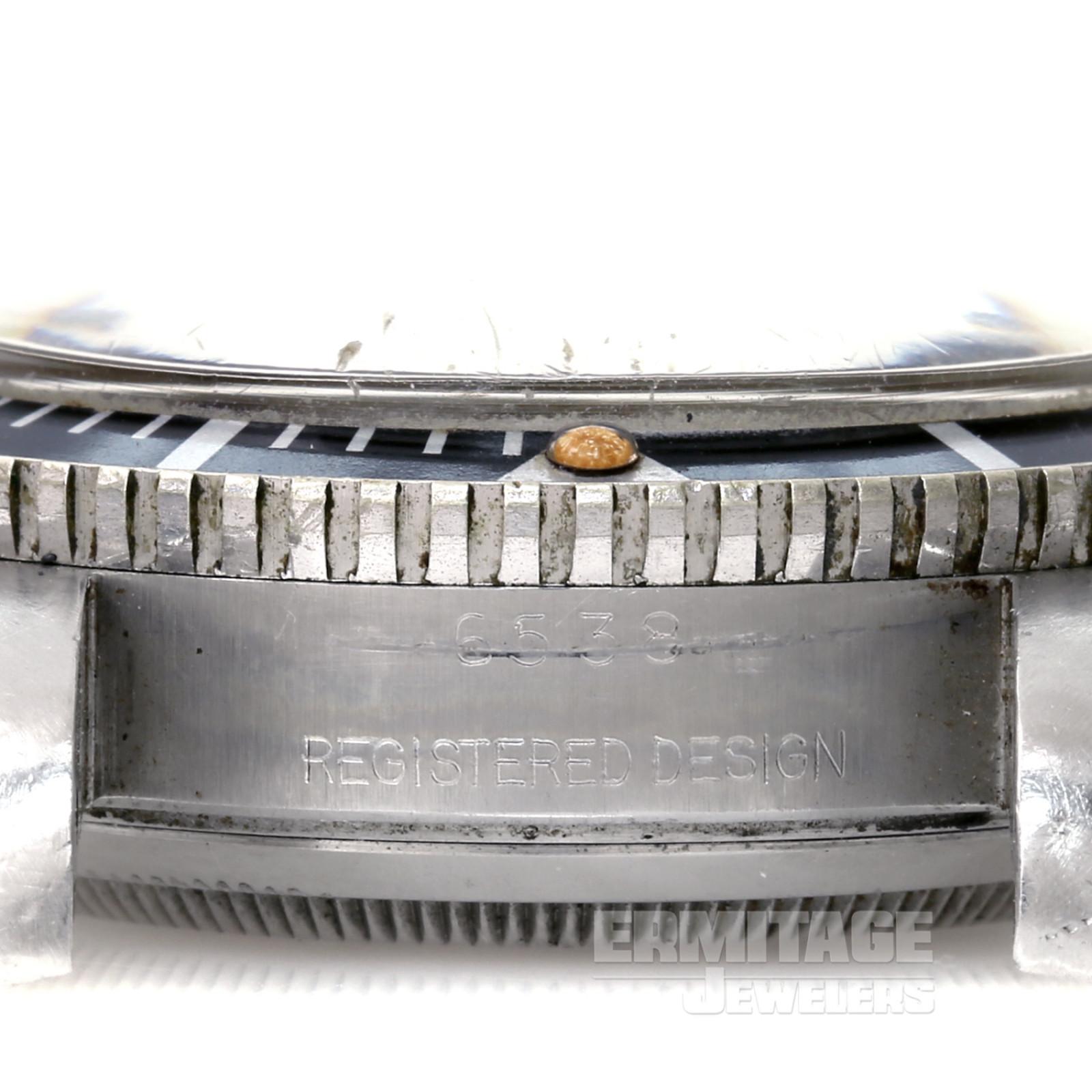 Steel on  Rolex Submariner 6538 40 mm