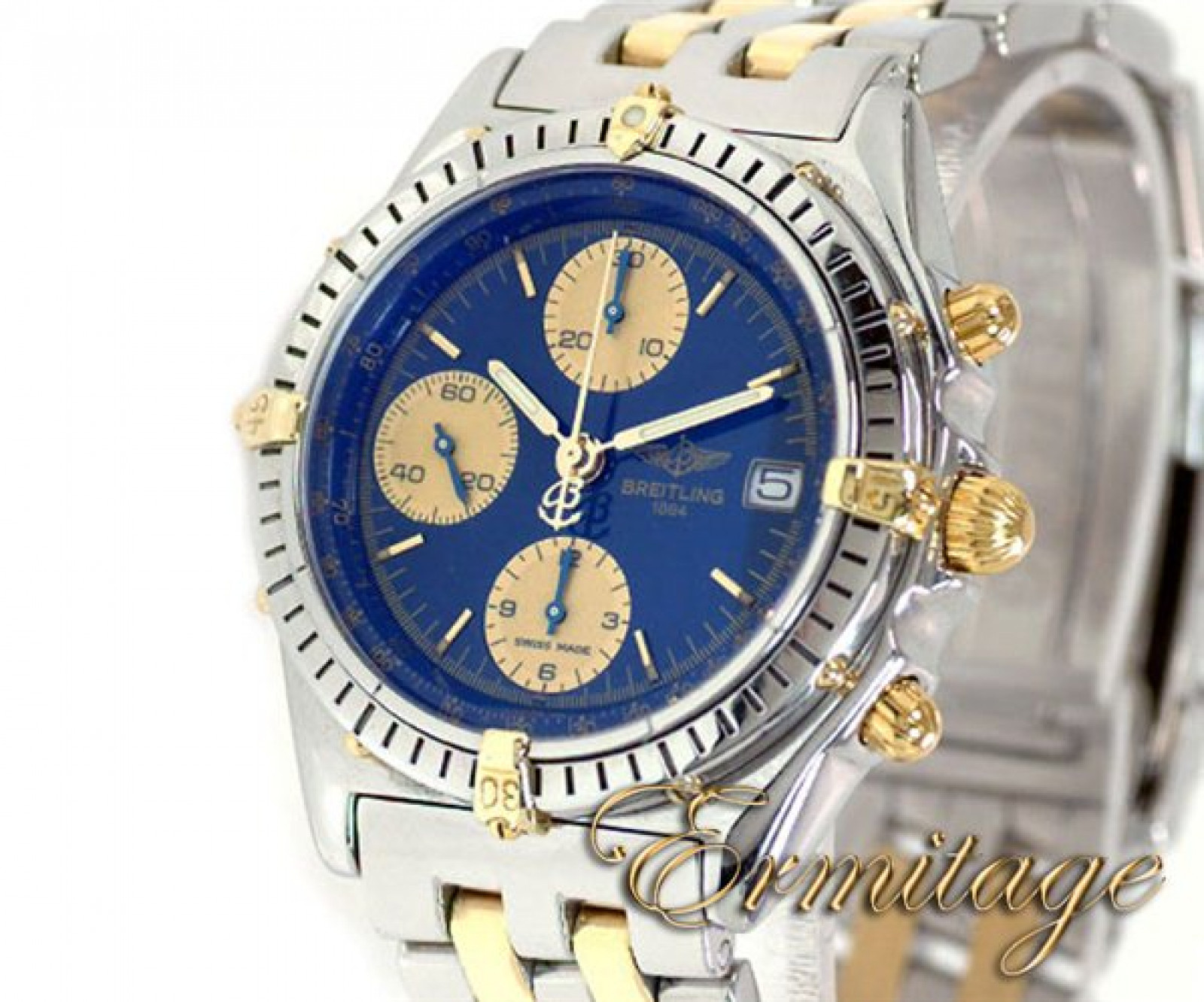 Breitling Chronomat B13048 Gold & Steel