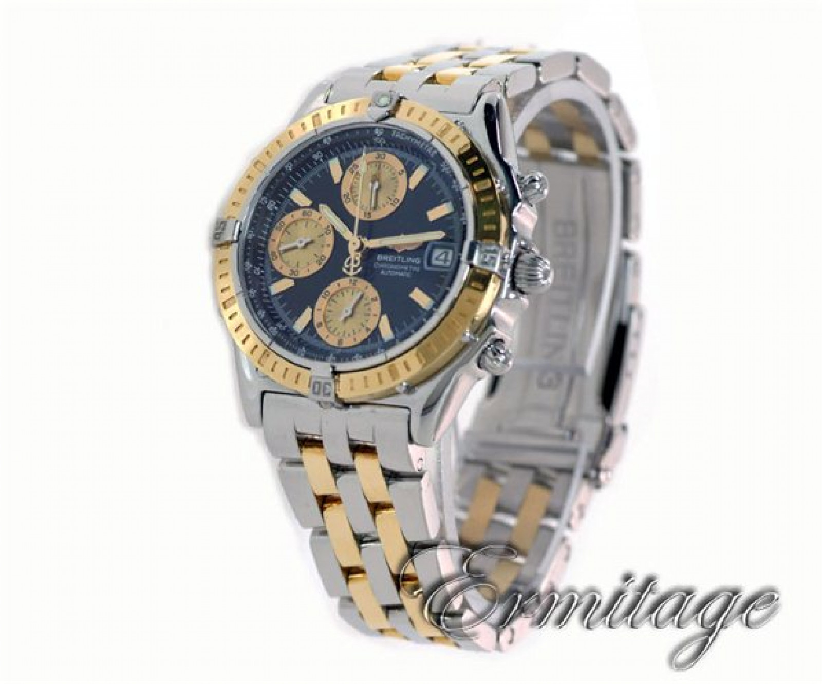 Breitling Chronomat D13352 Gold & Steel