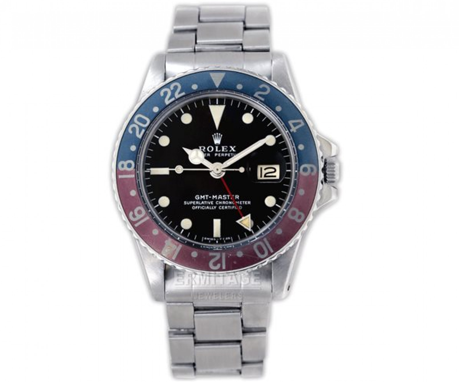 Vintage Rolex GMT-Master 1675 Steel Year 1972 with Black Dial 1972