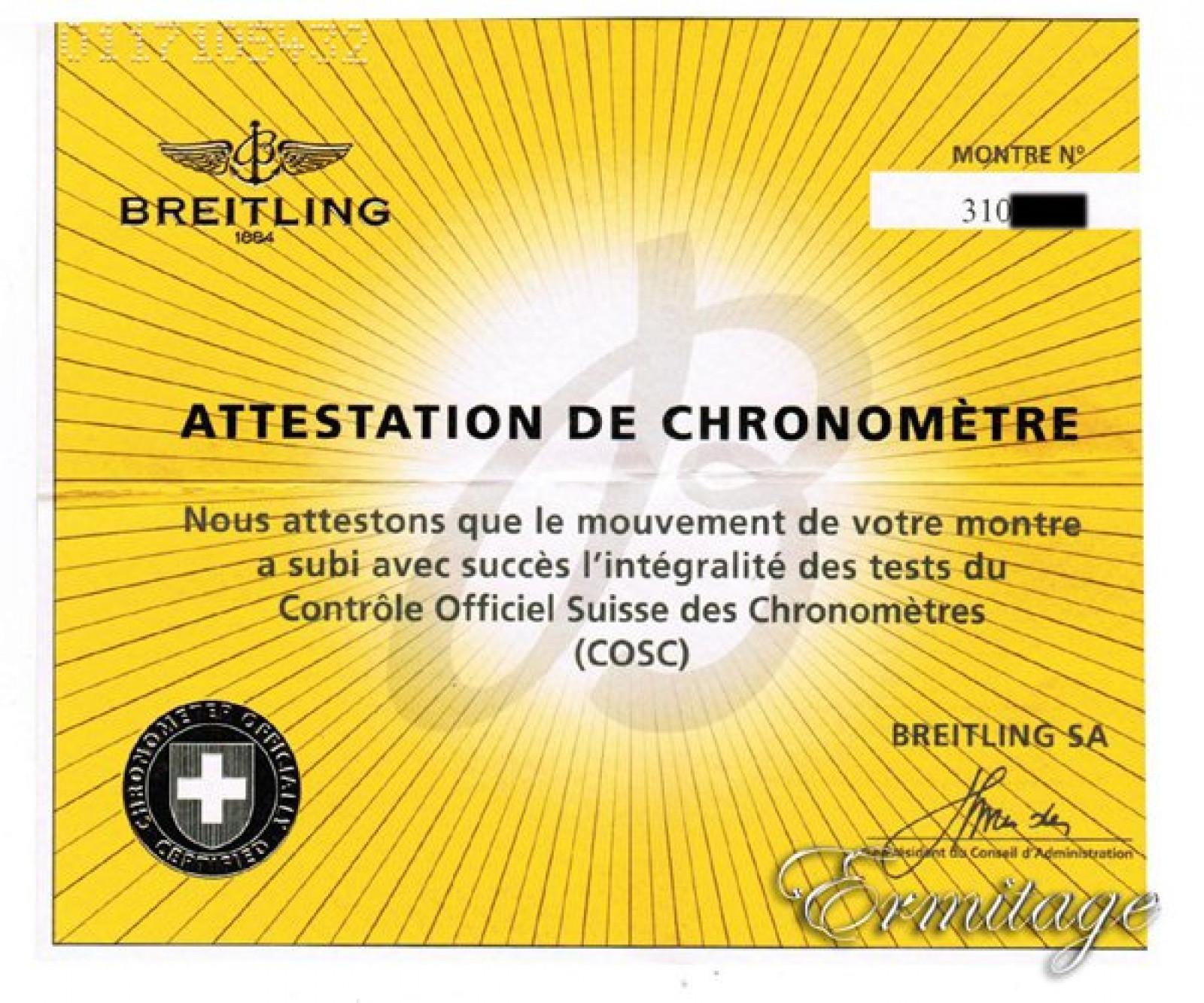 Breitling Chronomat 44 CB011012/C790 Gold & Steel