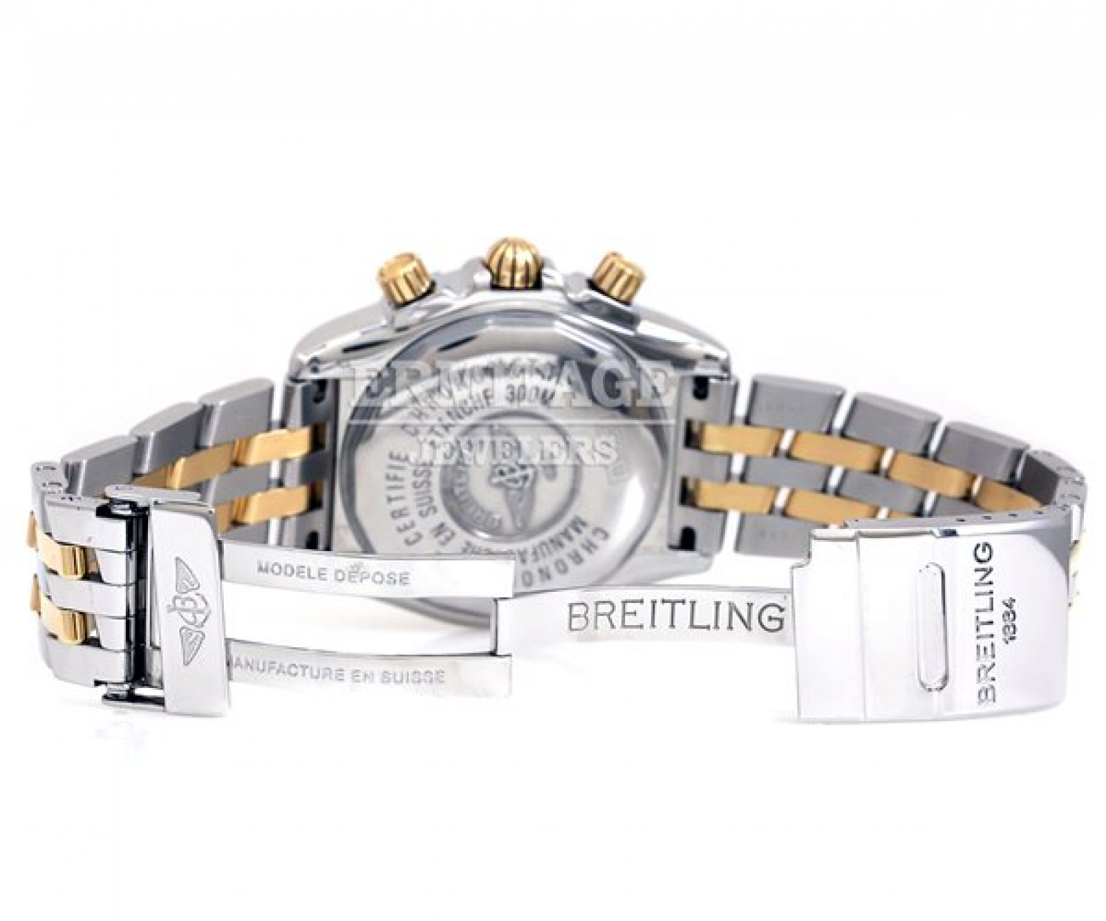 Breitling Evolution B13356 Gold & Steel