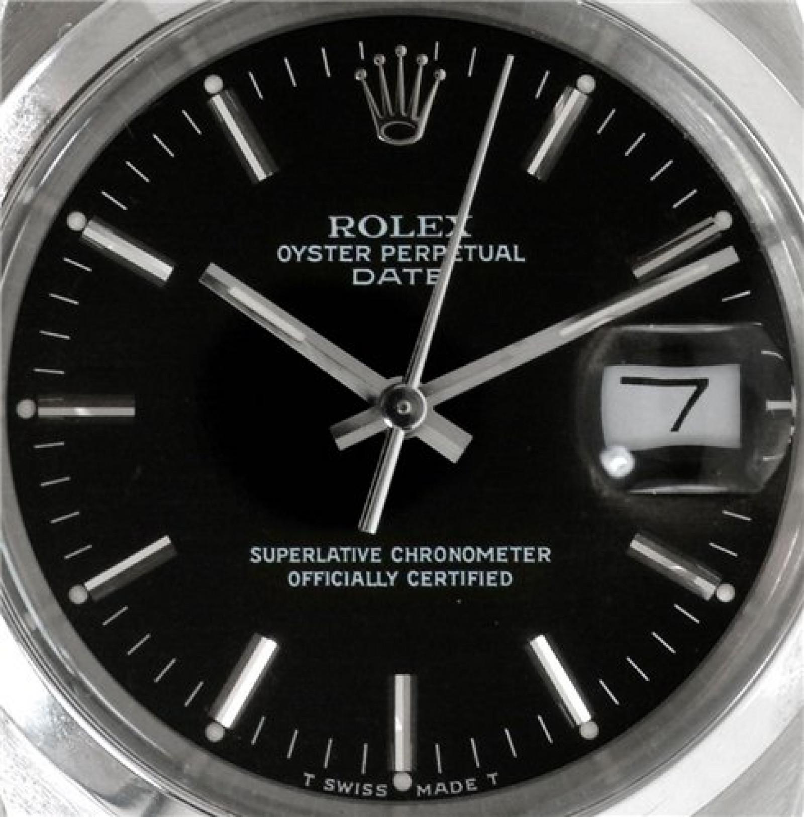 Rolex Oyster Perpetual Date 15000 Steel 1987