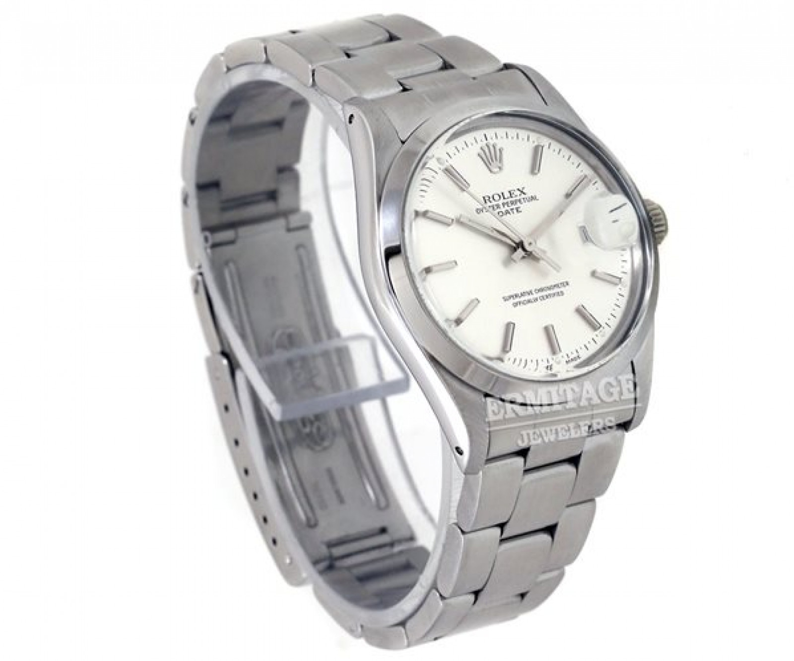 Pre-Owned Rolex Date 15000 Steel