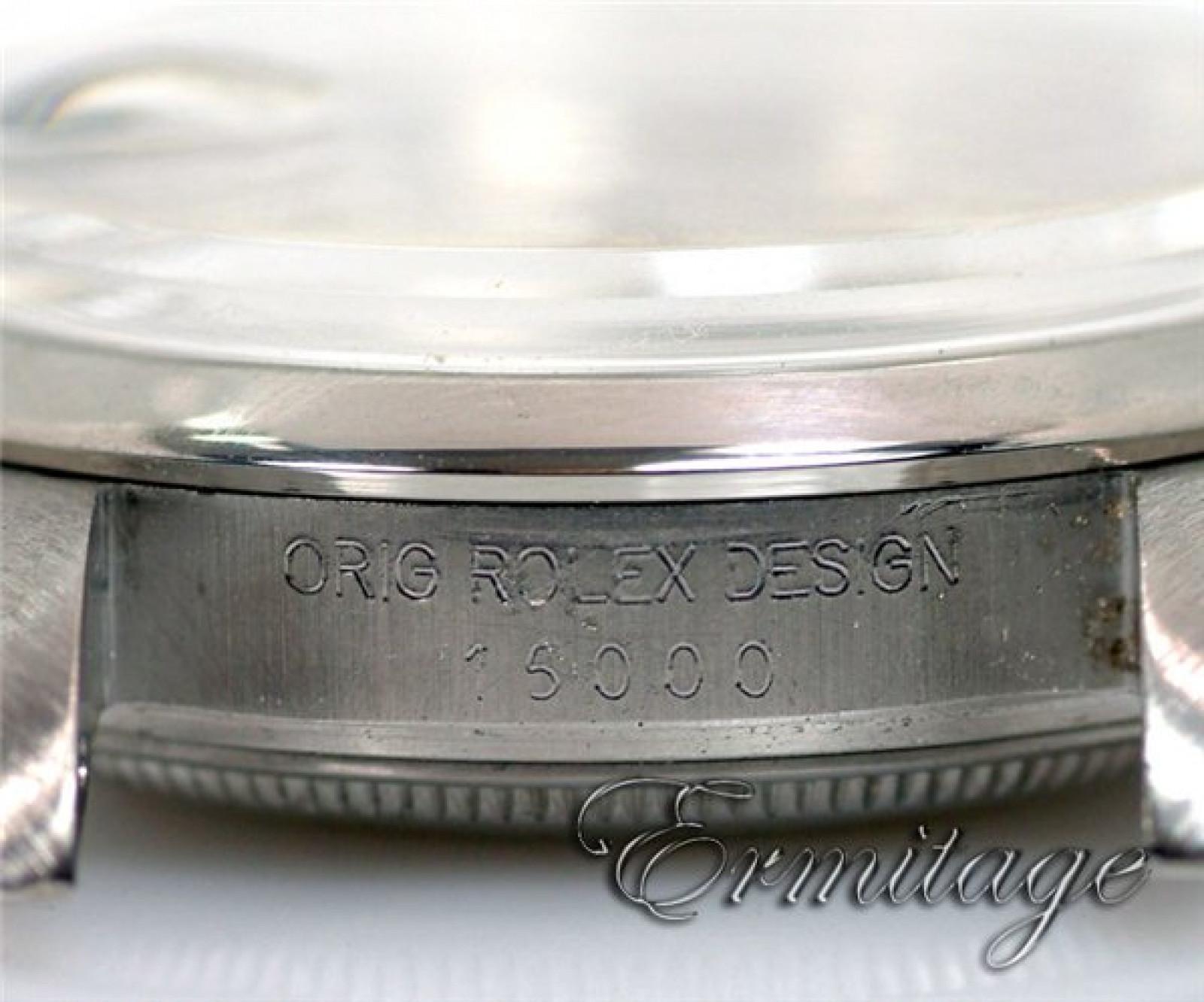 Vintage Steel Rolex Date 15000 Year 1984