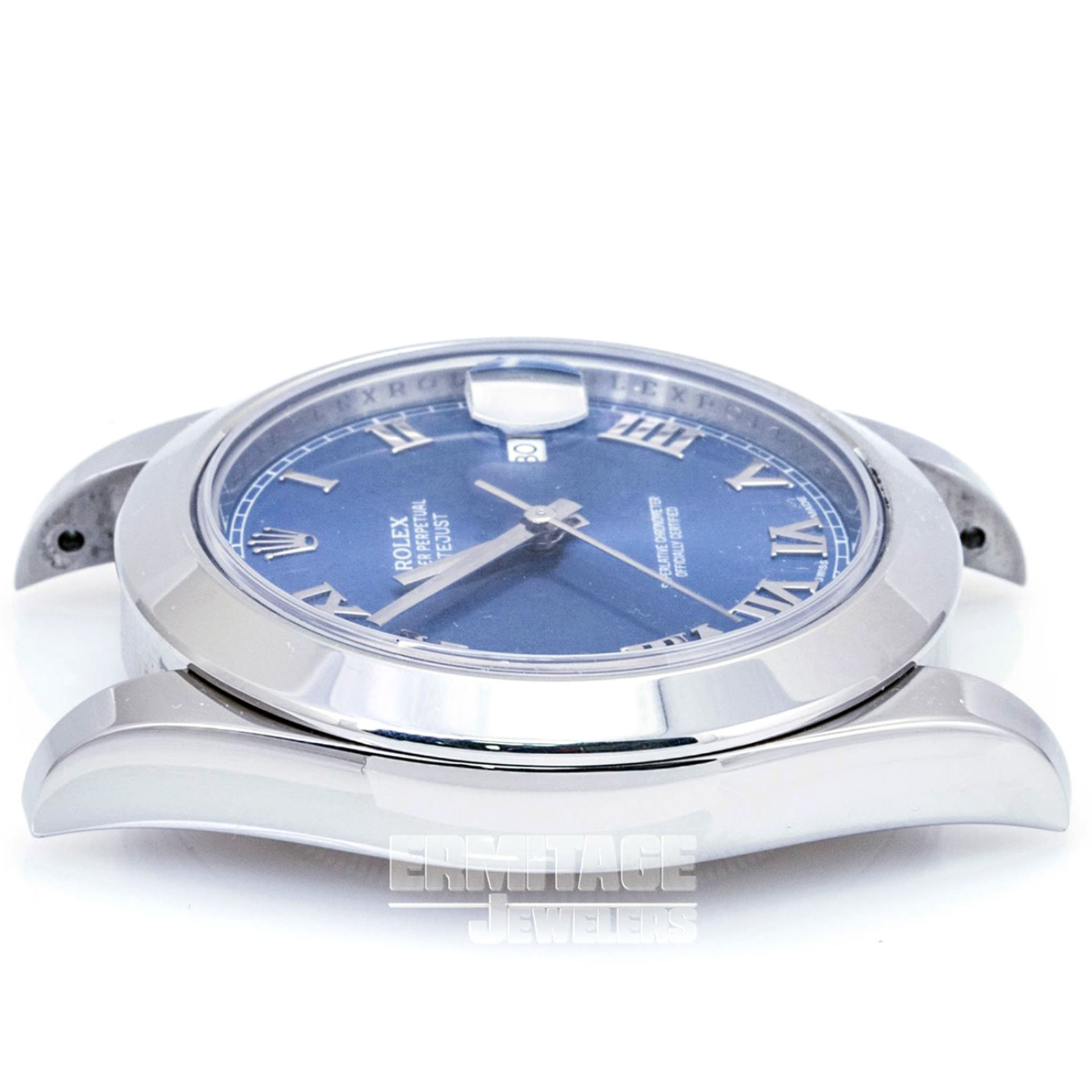 Pre-Owned Rolex Datejust 116300 with Blue Dial