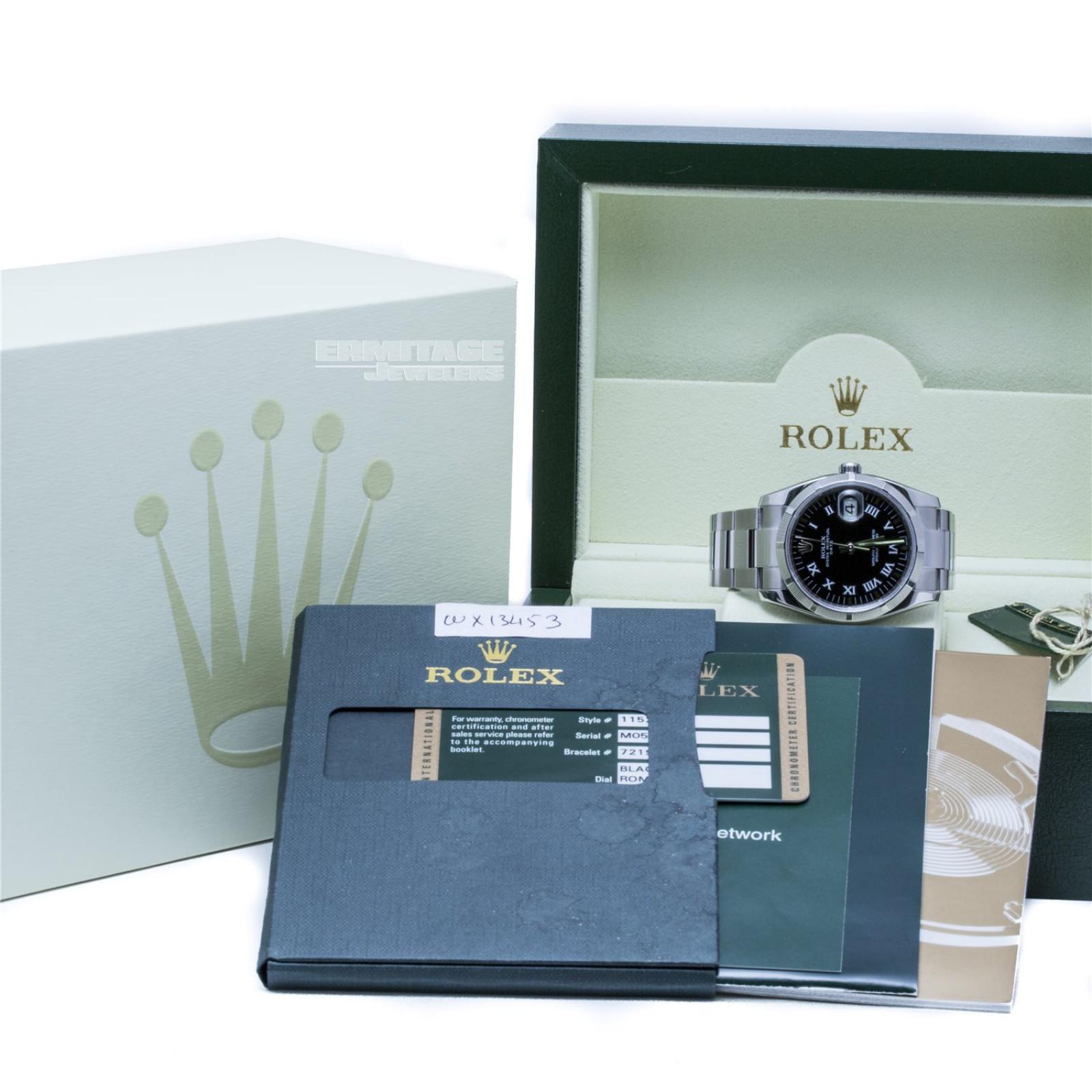 Pre-Owned Rolex Date 115210