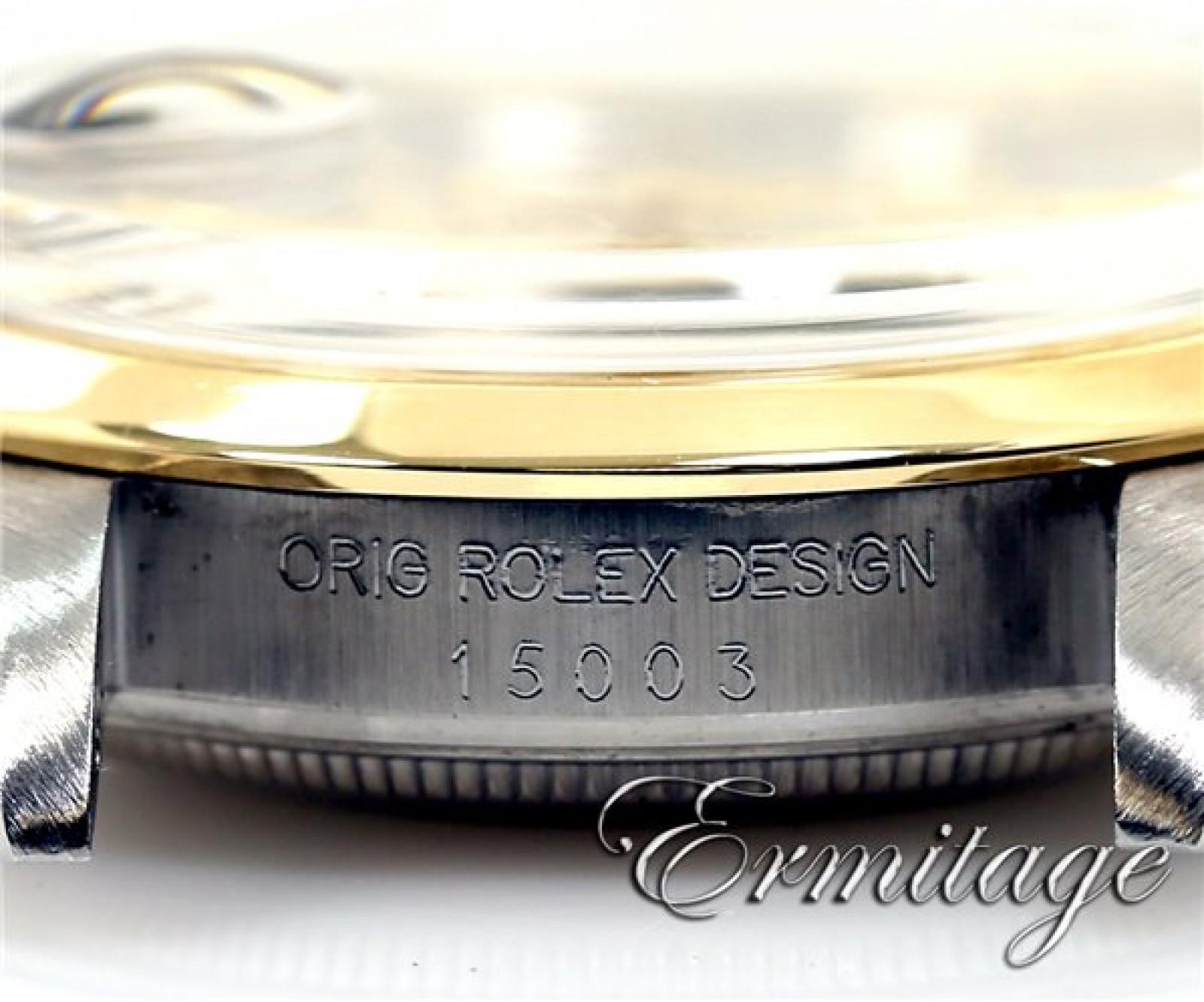Rolex Date 15003 Gold & Steel 1982