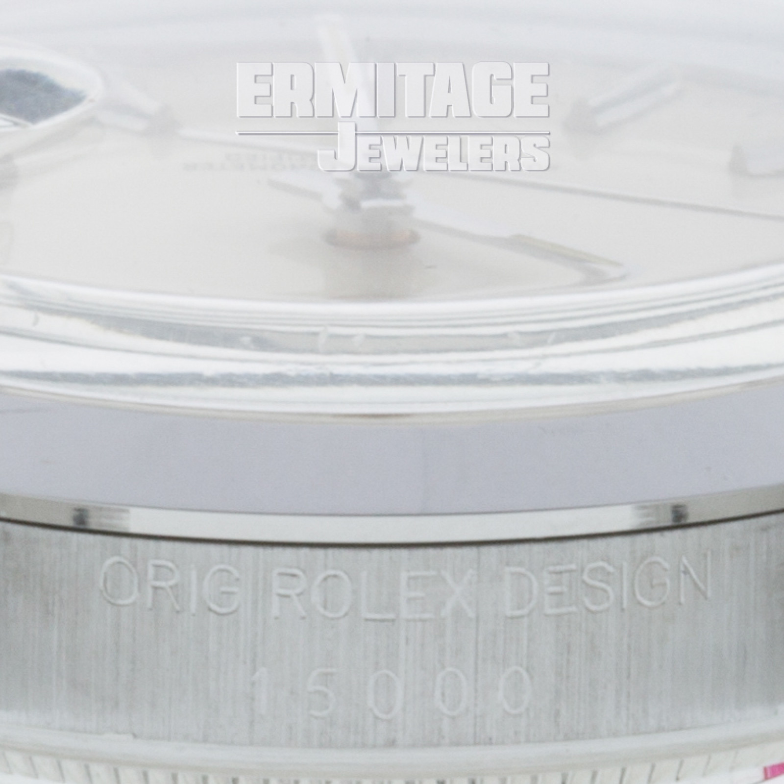 Steel on Jubilee Rolex Date 15000 34 mm