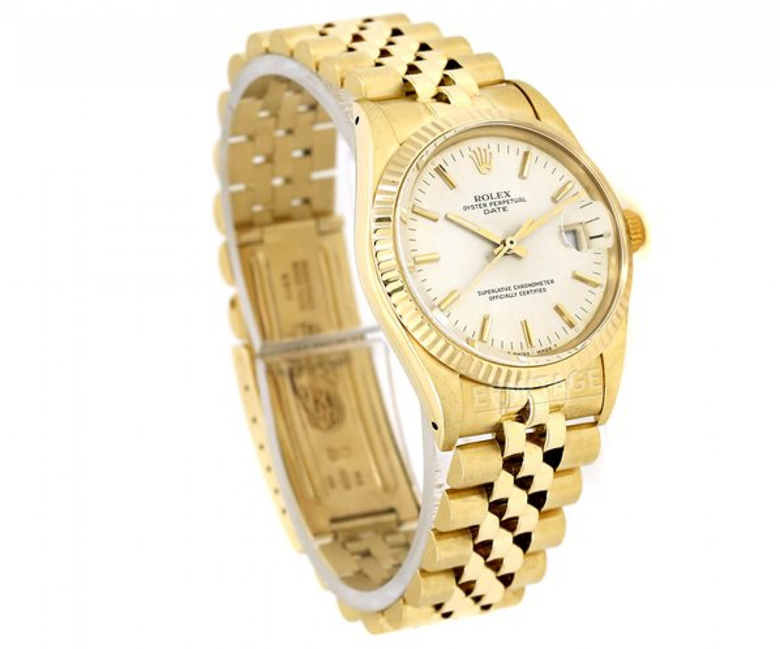 Used Rolex Date 15037 Gold
