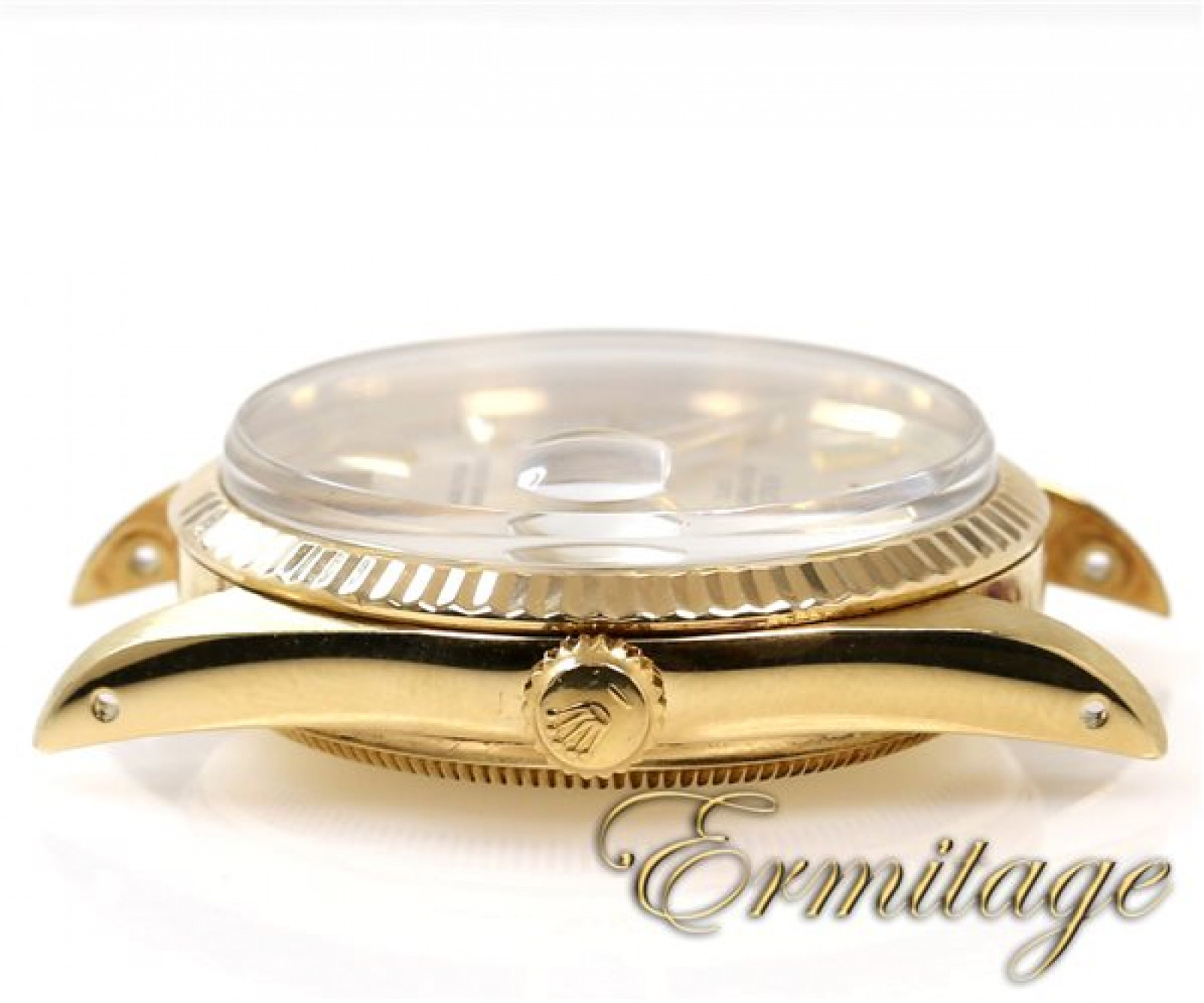 Pre-Owned Rolex Oyster Perpetual Date 15037 Gold