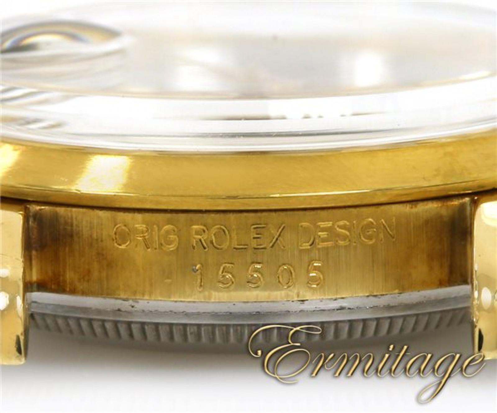 Rolex Date 15505 Gold 1986
