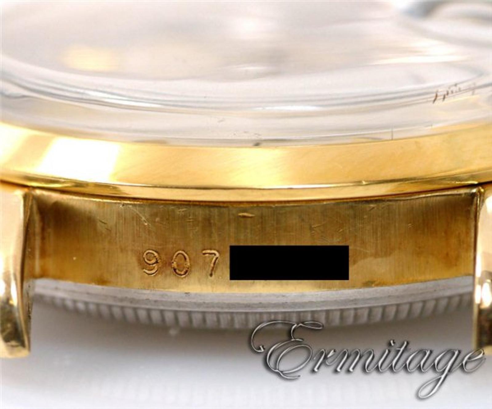 Rolex Date 15505 Gold Silver Dial 4033