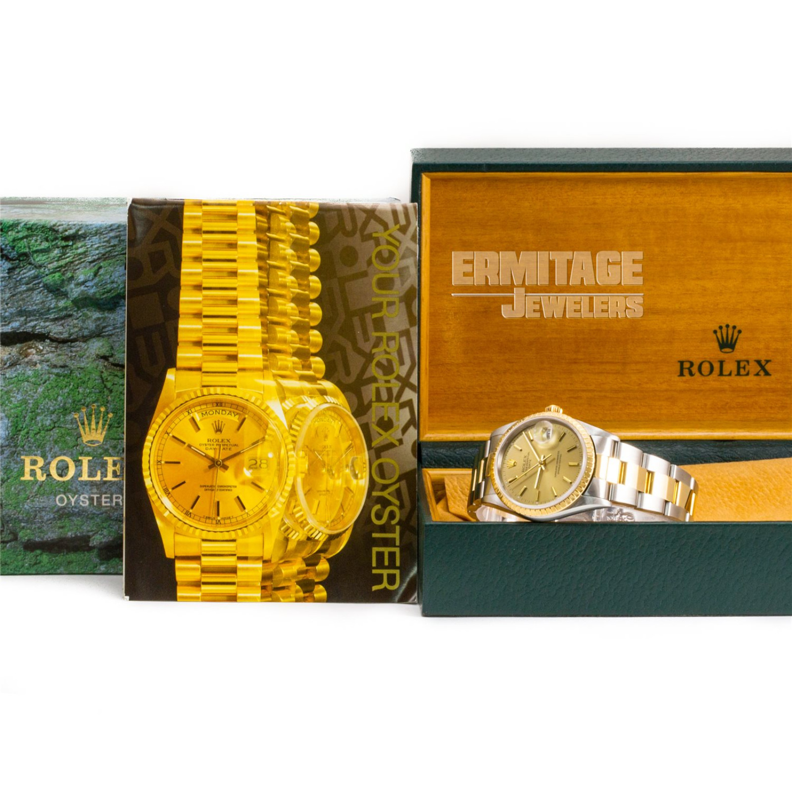 Pre-Owned Rolex Date 15223 with Champagne Dial