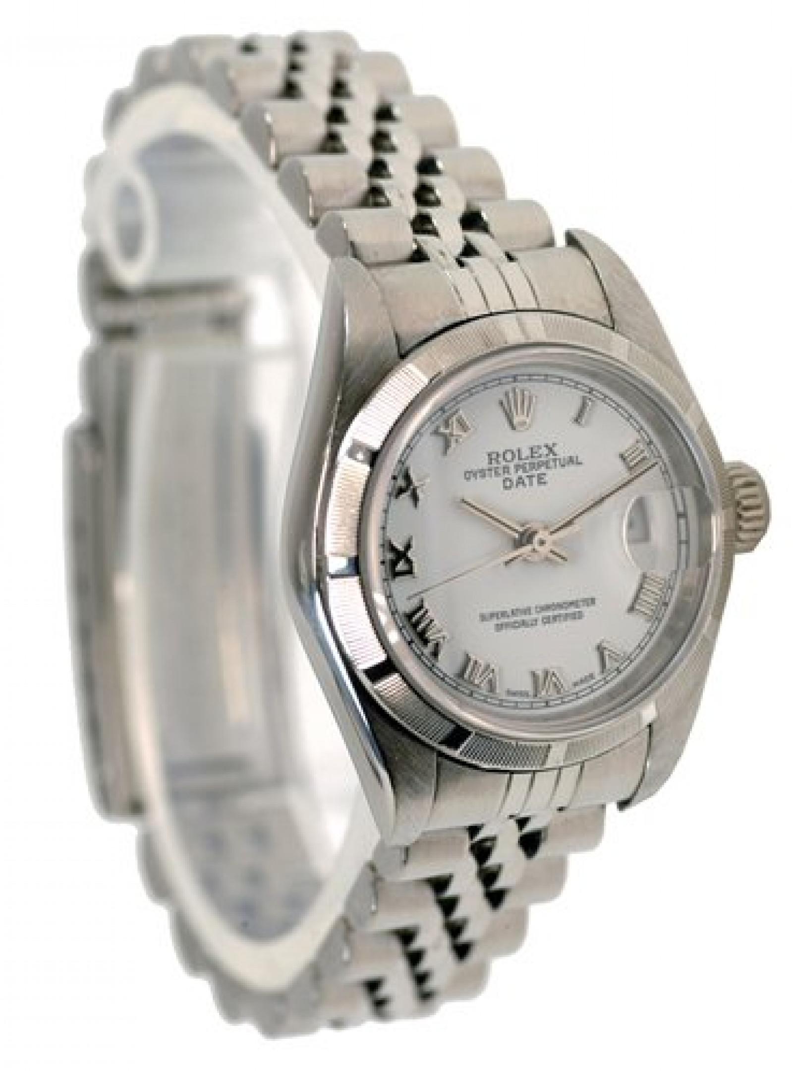 Rolex Date 79190 Steel White 2005