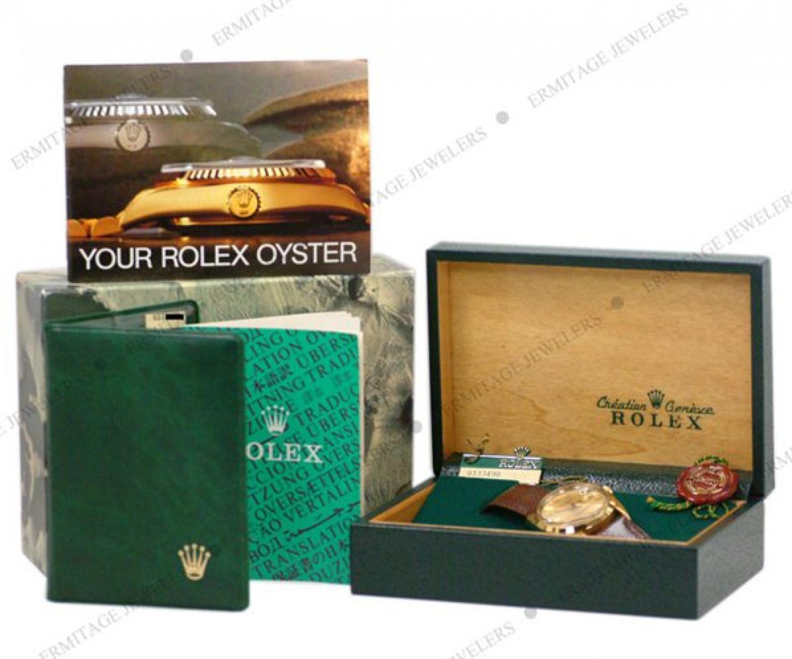 Rolex Date 15505 Gold Champagne 1986