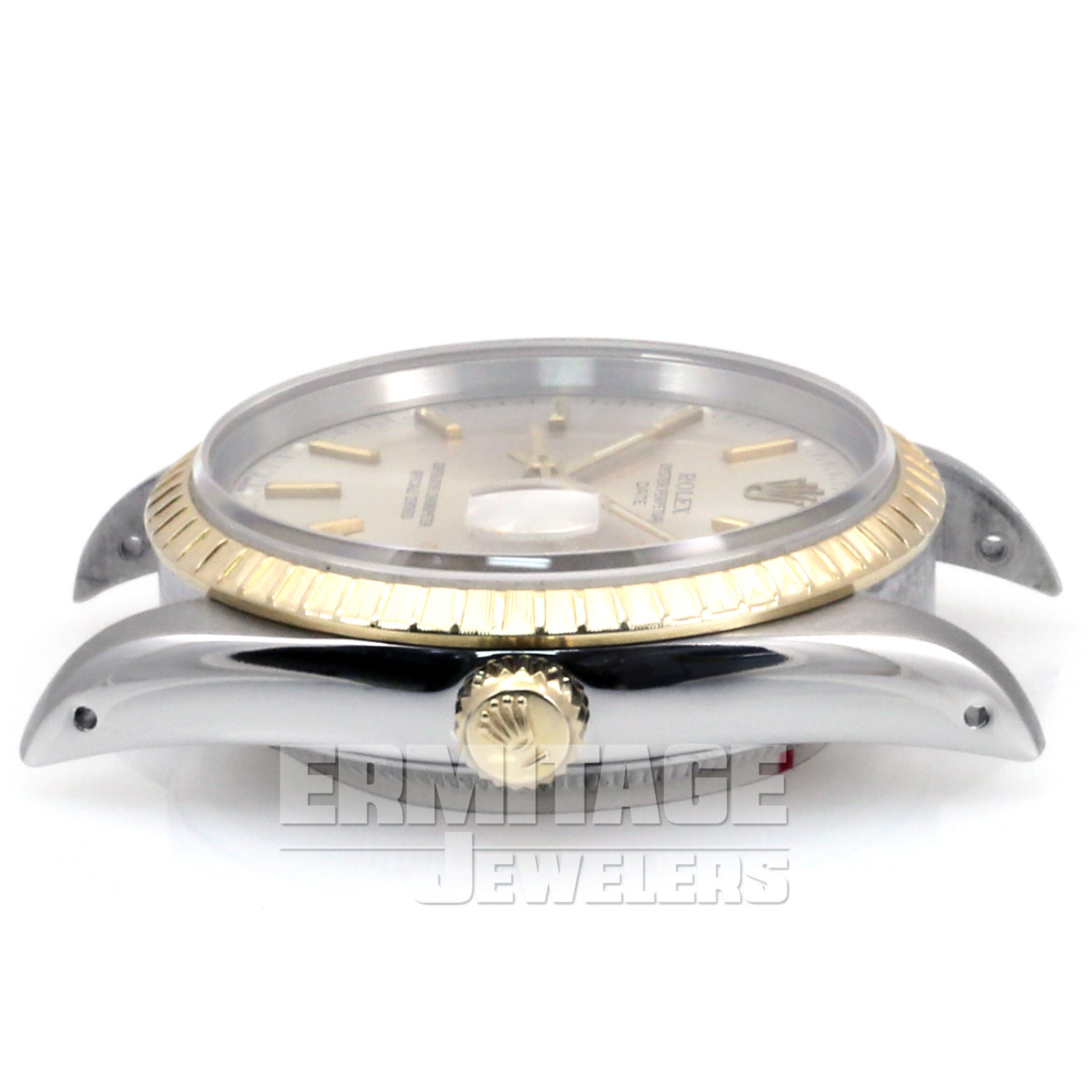 Pre-Owned Rolex Date 15223 with Steel Dial