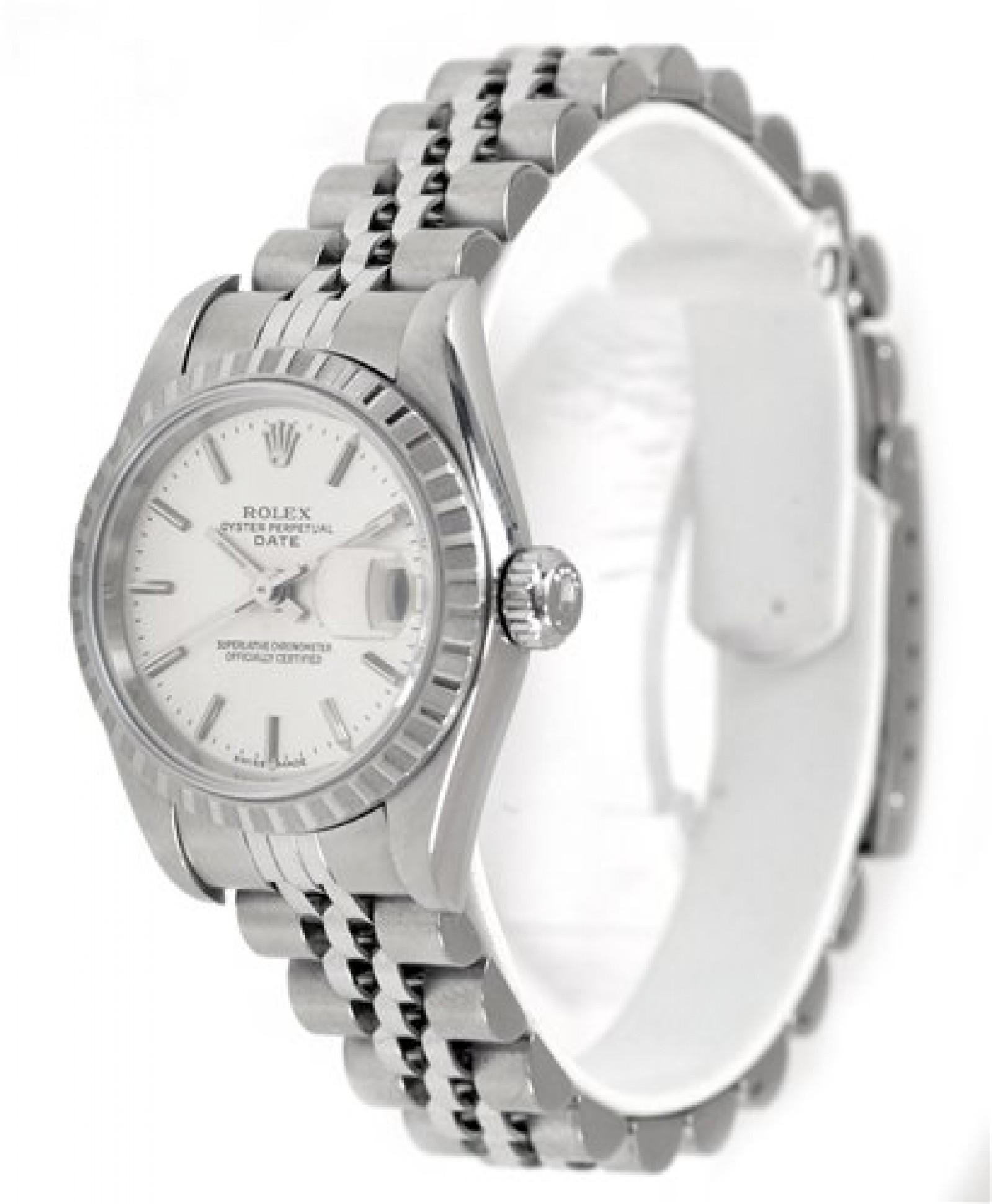 Rolex Date 79240 Steel Silver Dial 2004