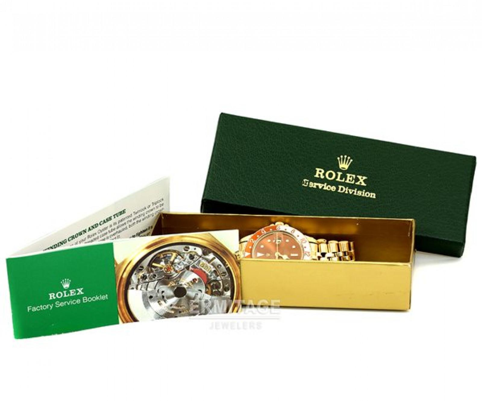 Vintage Rolex GMT-Master 1675 Gold