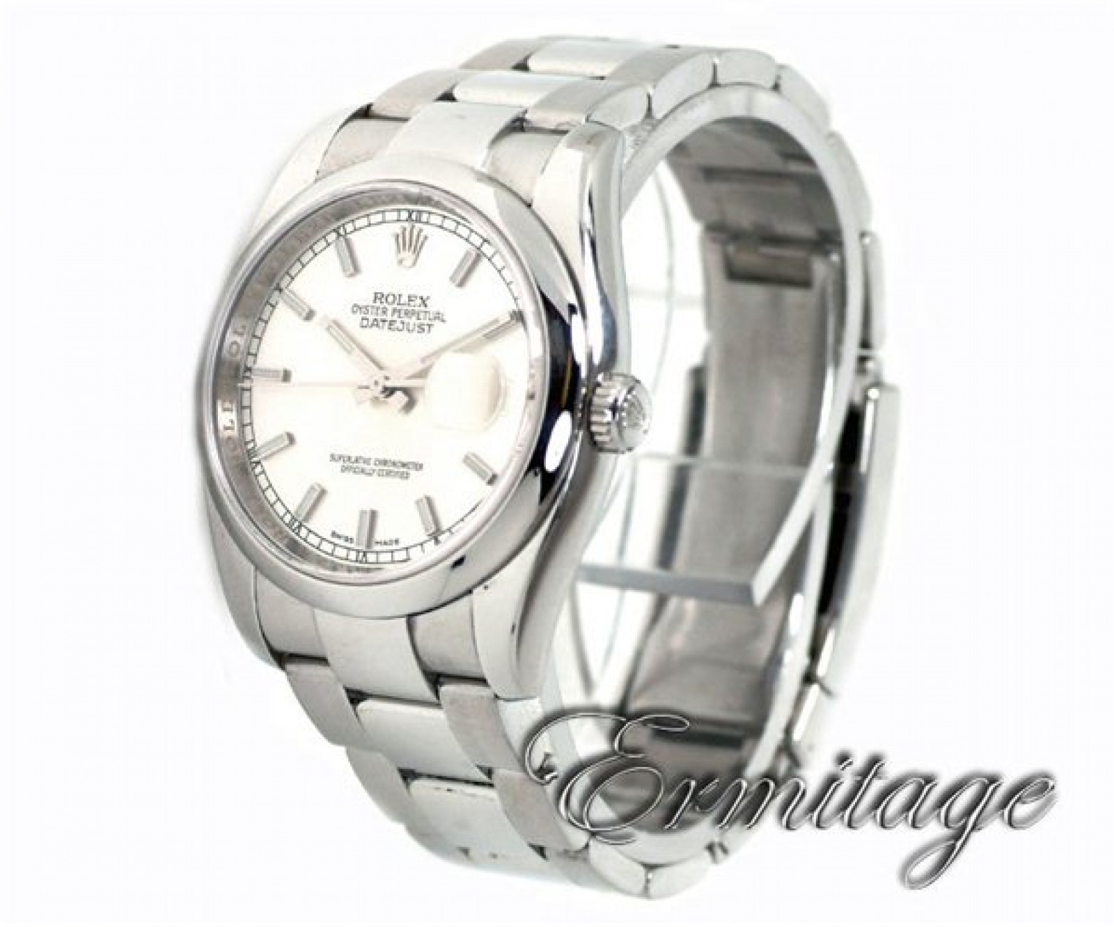 New Style Rolex Datejust 116200 Steel Silver