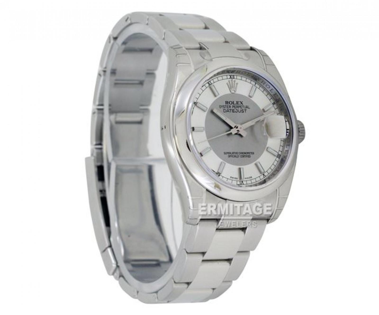 Sell Rolex Datejust 116200 Steel Silver