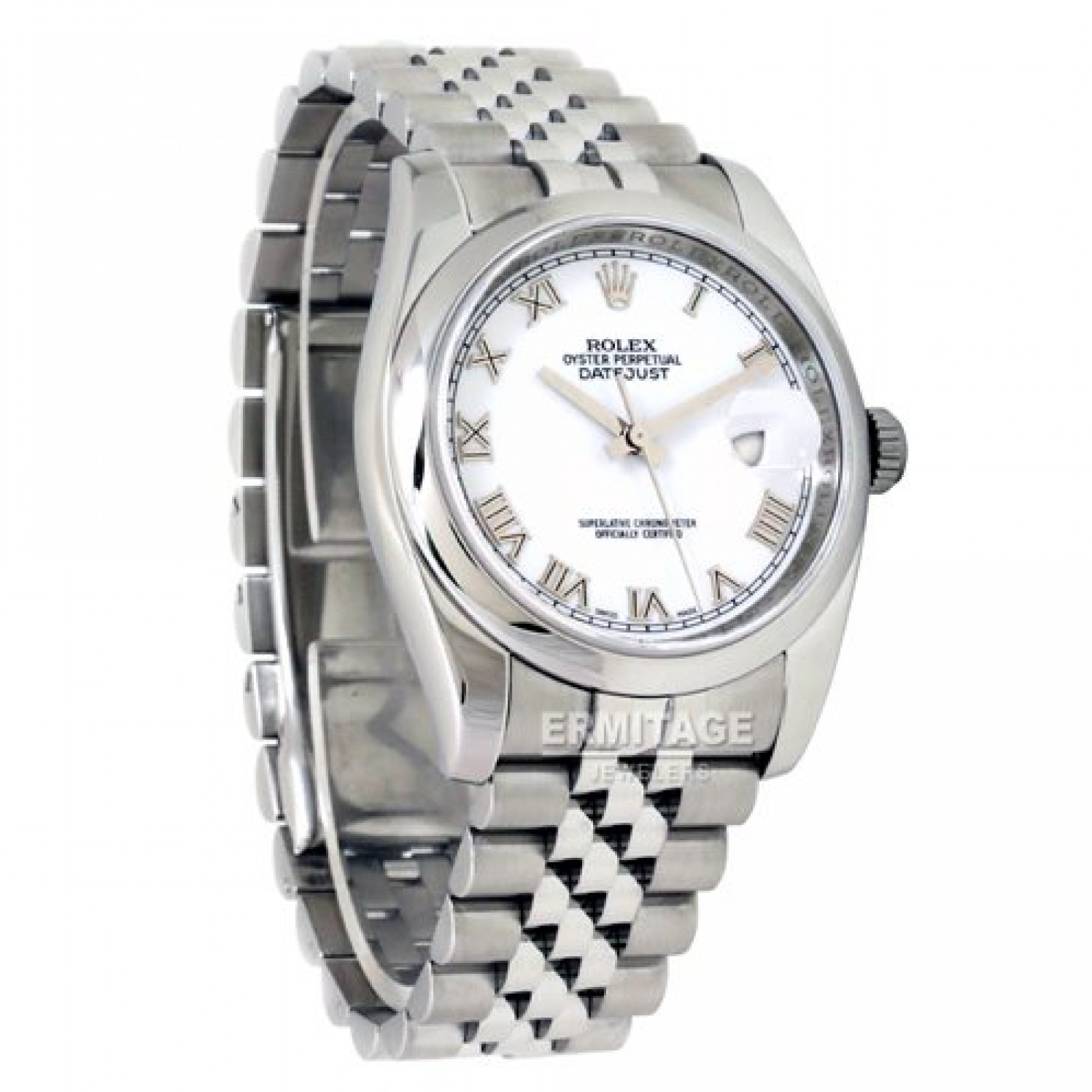 Rolex Datejust 116200 Steel With White Dial