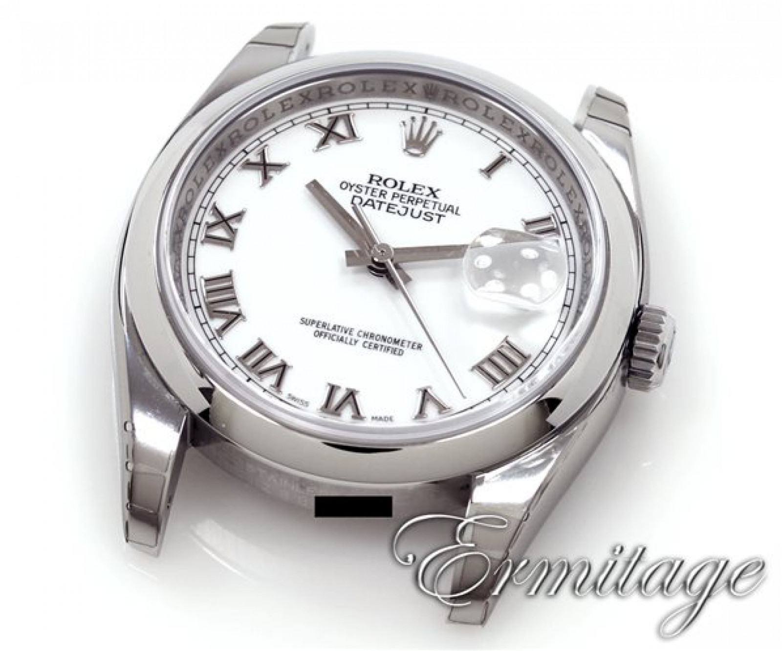 Rolex Datejust 116200 Steel with White Dial & Roman Markers