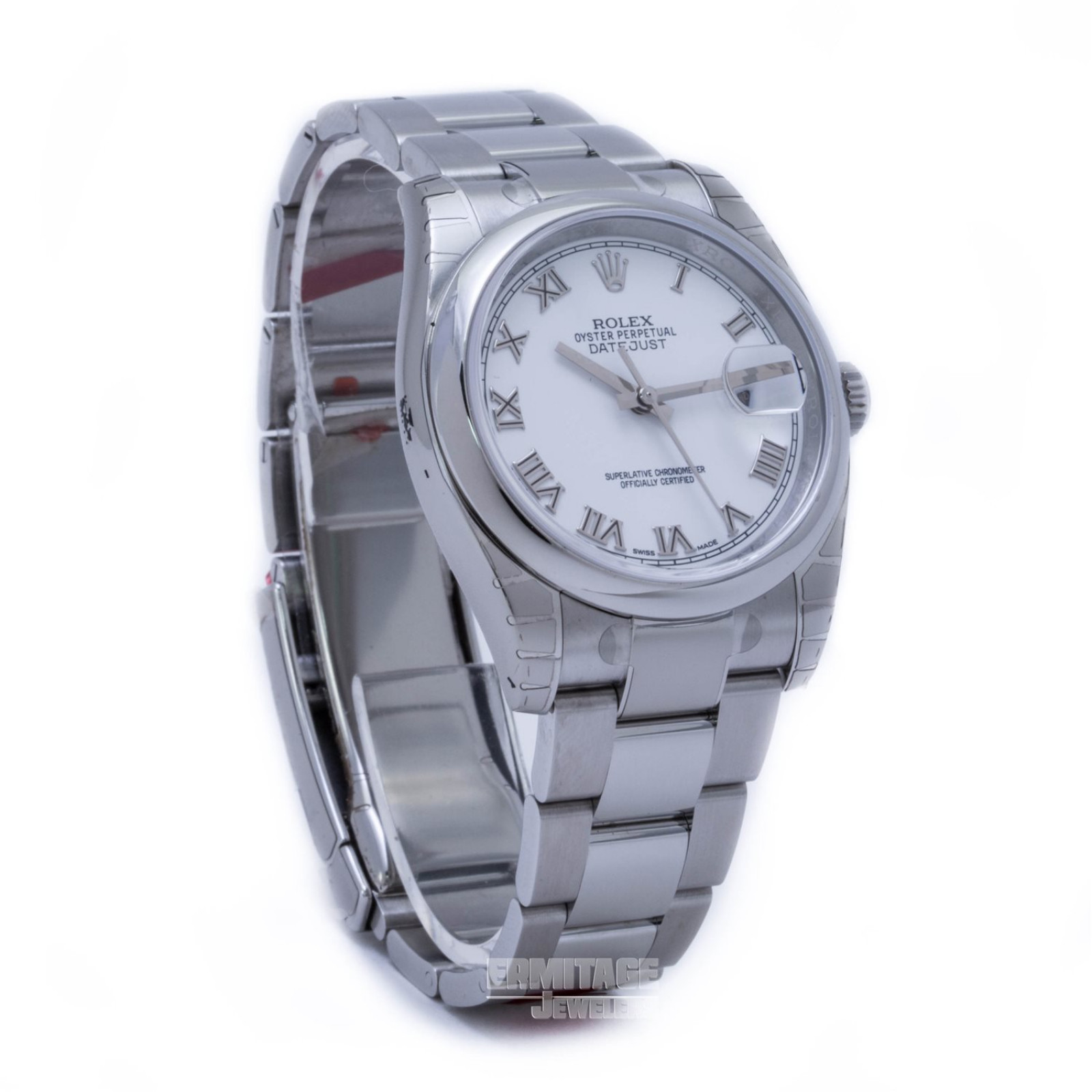 Rolex Datejust 116200 with White Dial
