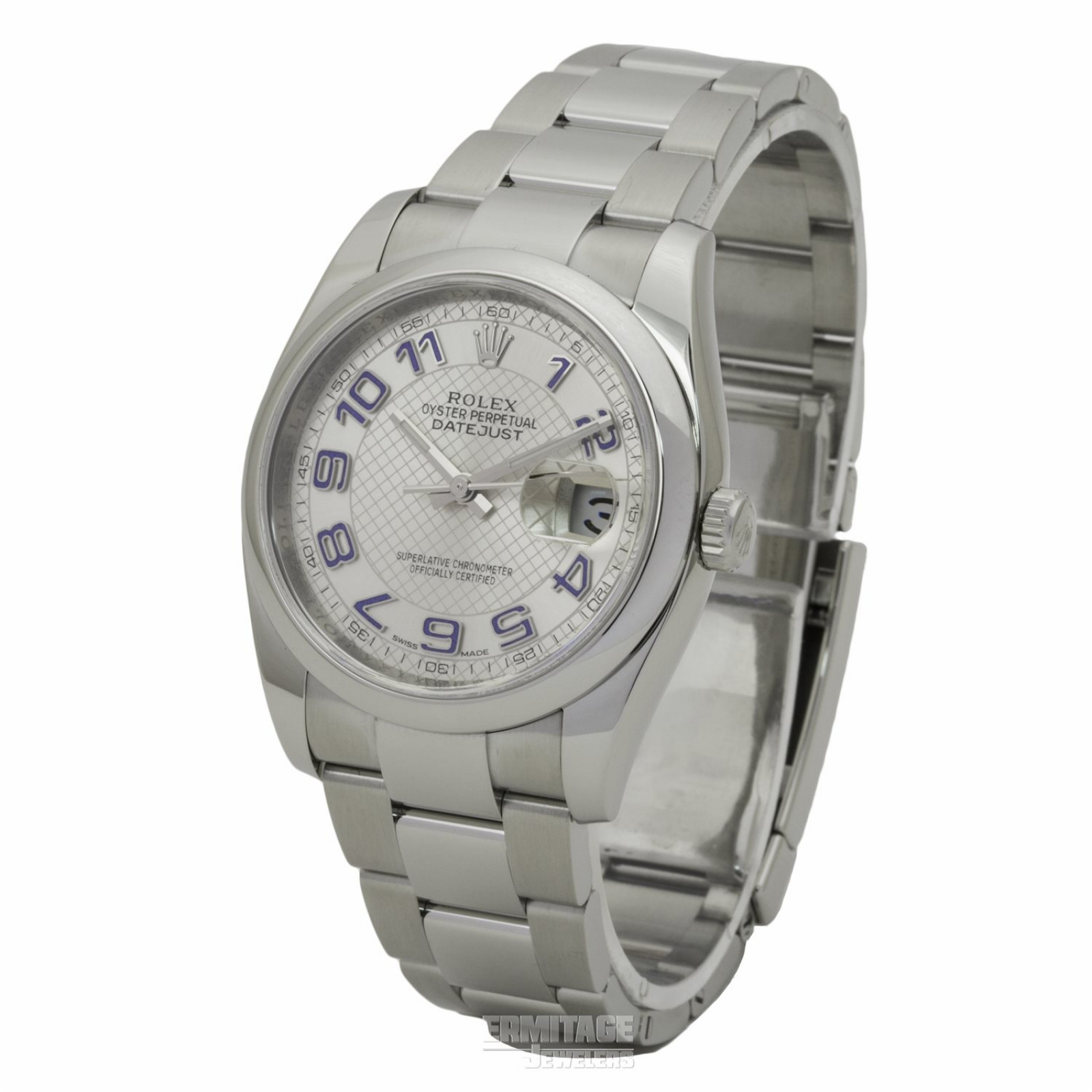 36 mm Rolex Datejust 116200 Steel on Oyster Pre-Owned