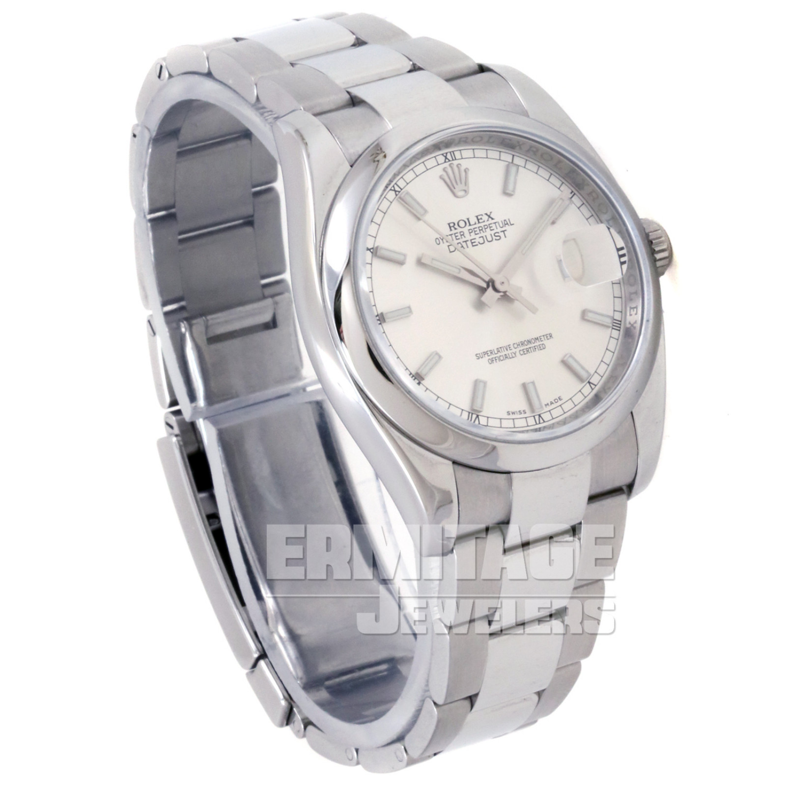 Steel on Oyster Rolex Datejust 116200 36 mm