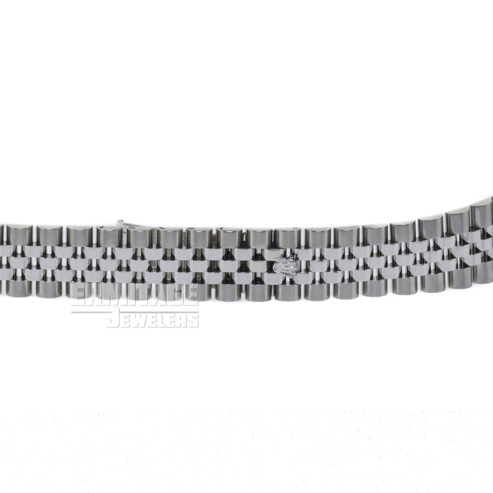 Steel on Jubilee Rolex Datejust 116200 36 mm