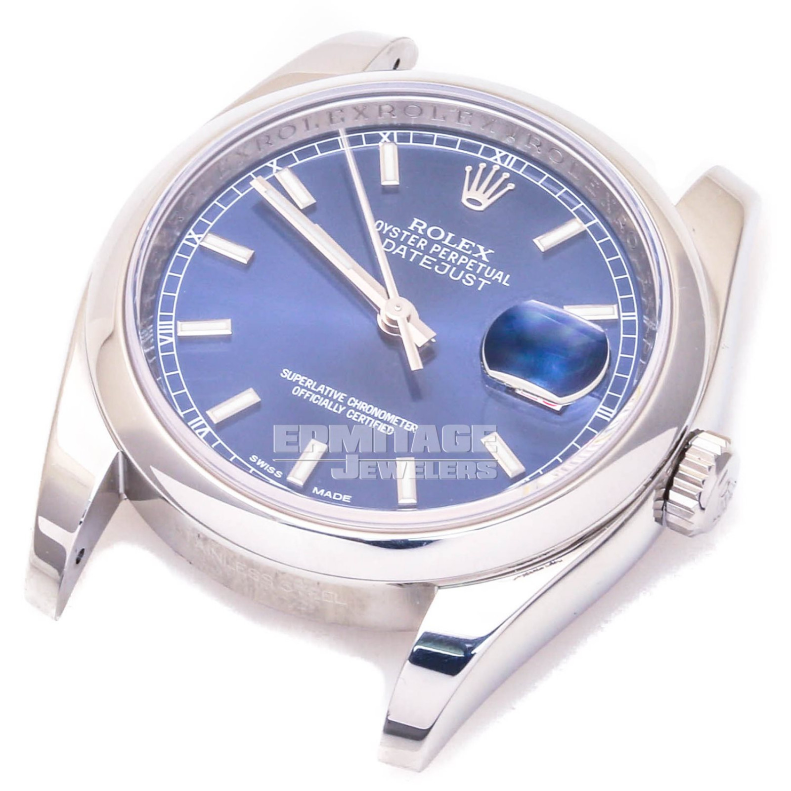 Rolex Datejust 116200 with Blue Dial