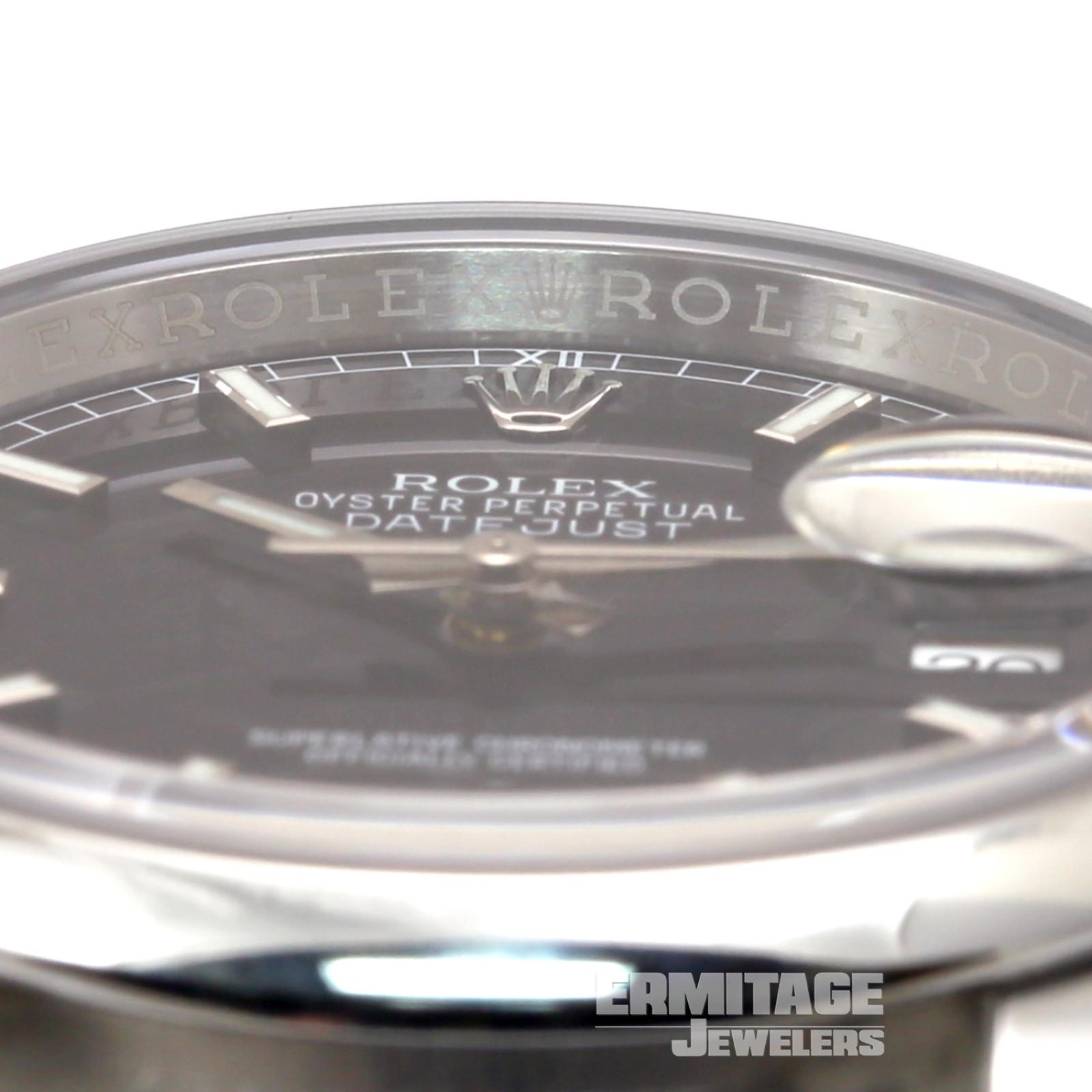 Stainless Steel Rolex Datejust 116200 36 mm