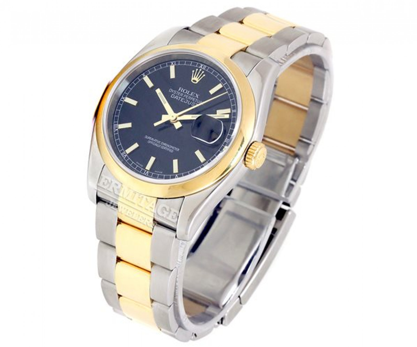 Rolex Datejust 116203 Gold & Steel Black