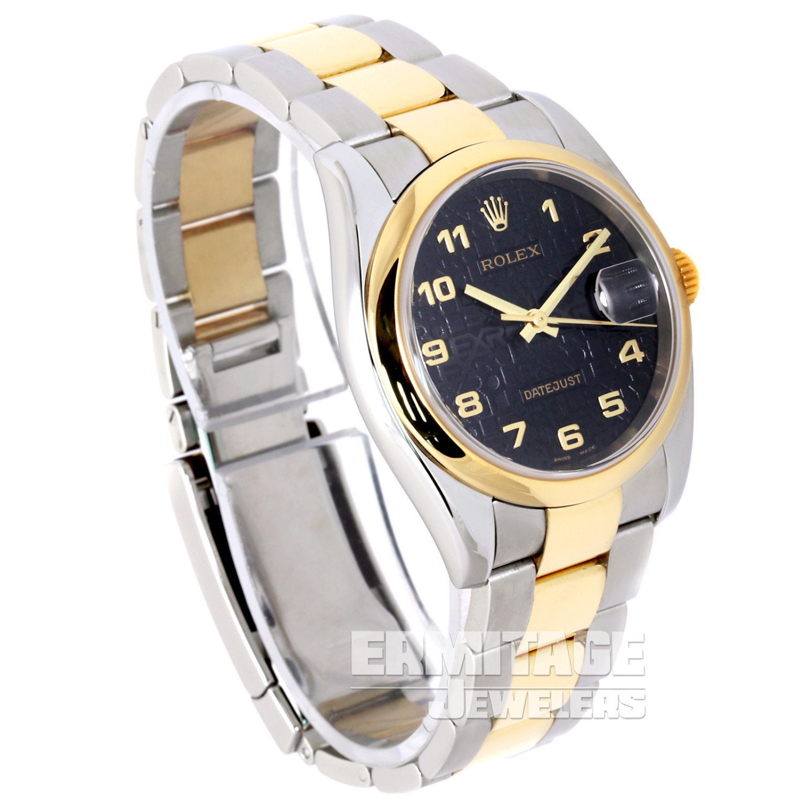 Rolex Datejust 116203 with Black Dial