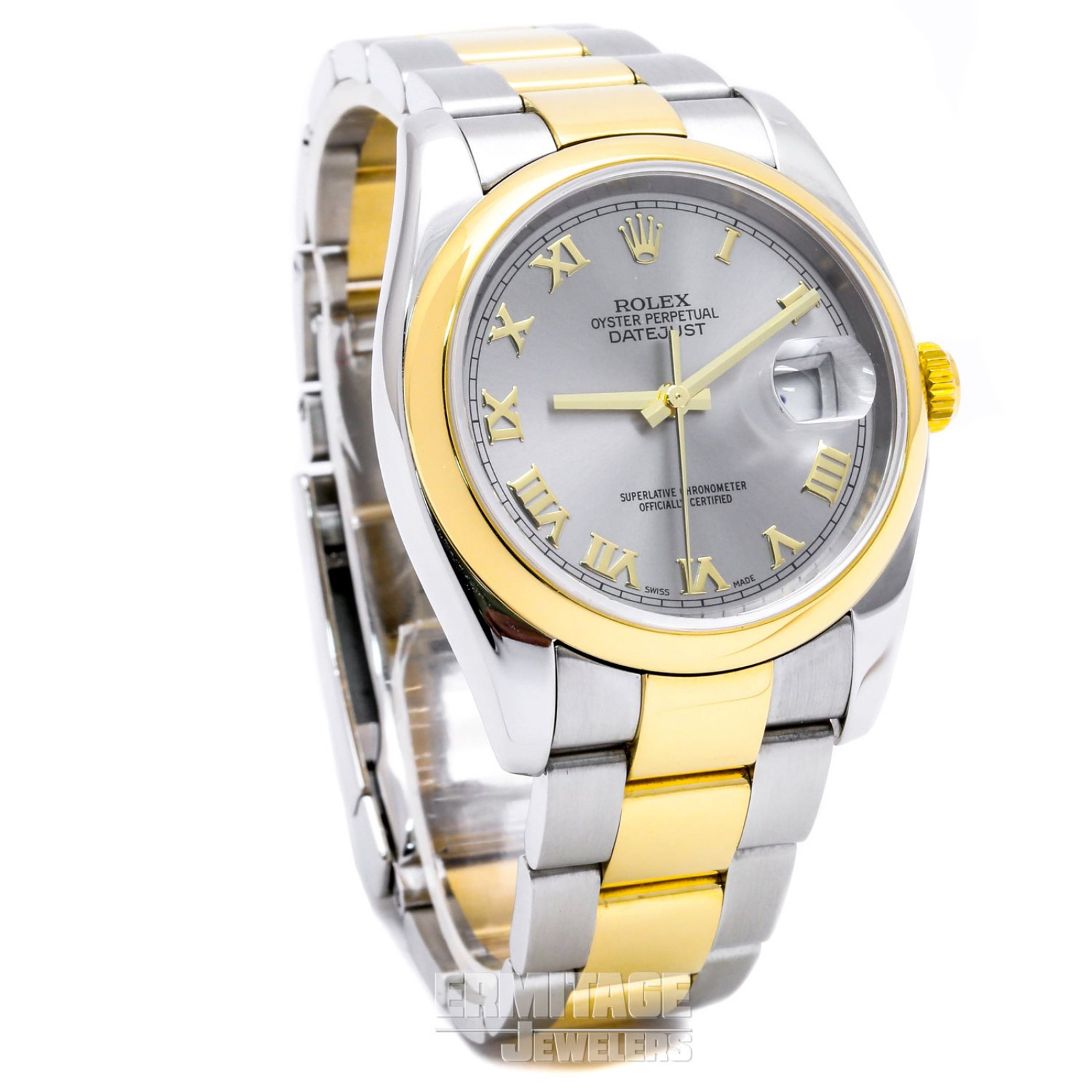 Rolex Datejust 116203 with Gray Dial