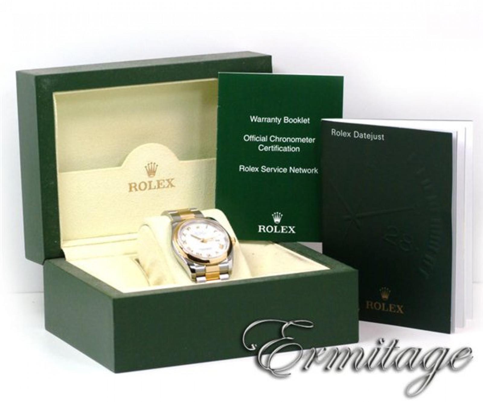 Rolex Datejust 116203 Gold & Steel White