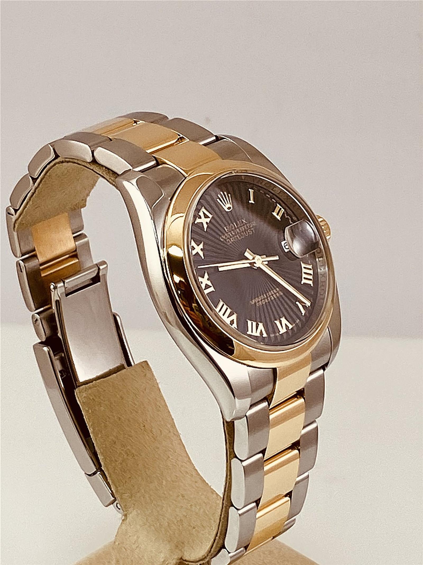 2008 Black Rolex Datejust Ref. 116203