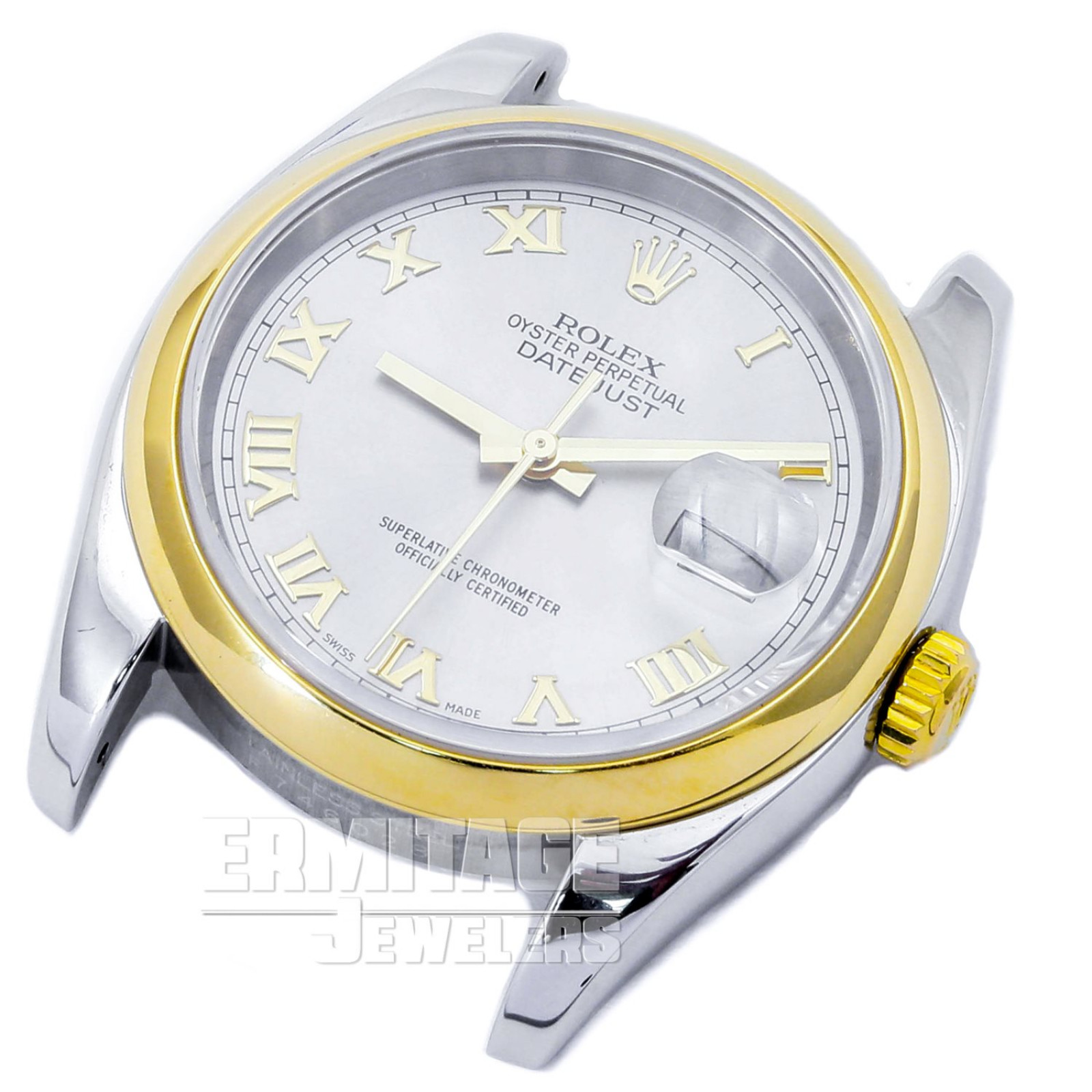 Gold & Steel on Oyster Rolex Datejust 116203 36 mm