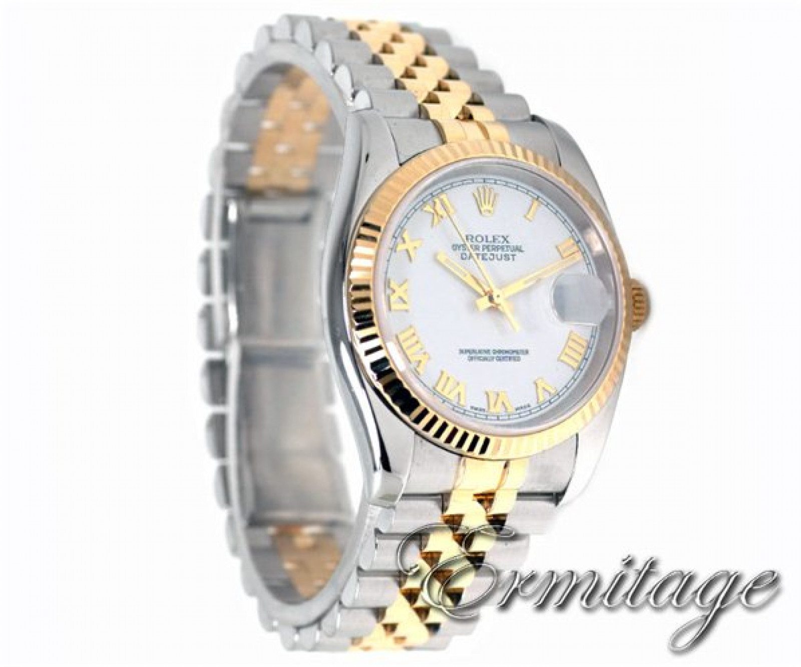 Rolex Datejust 116233 with 18 kt Yellow Gold