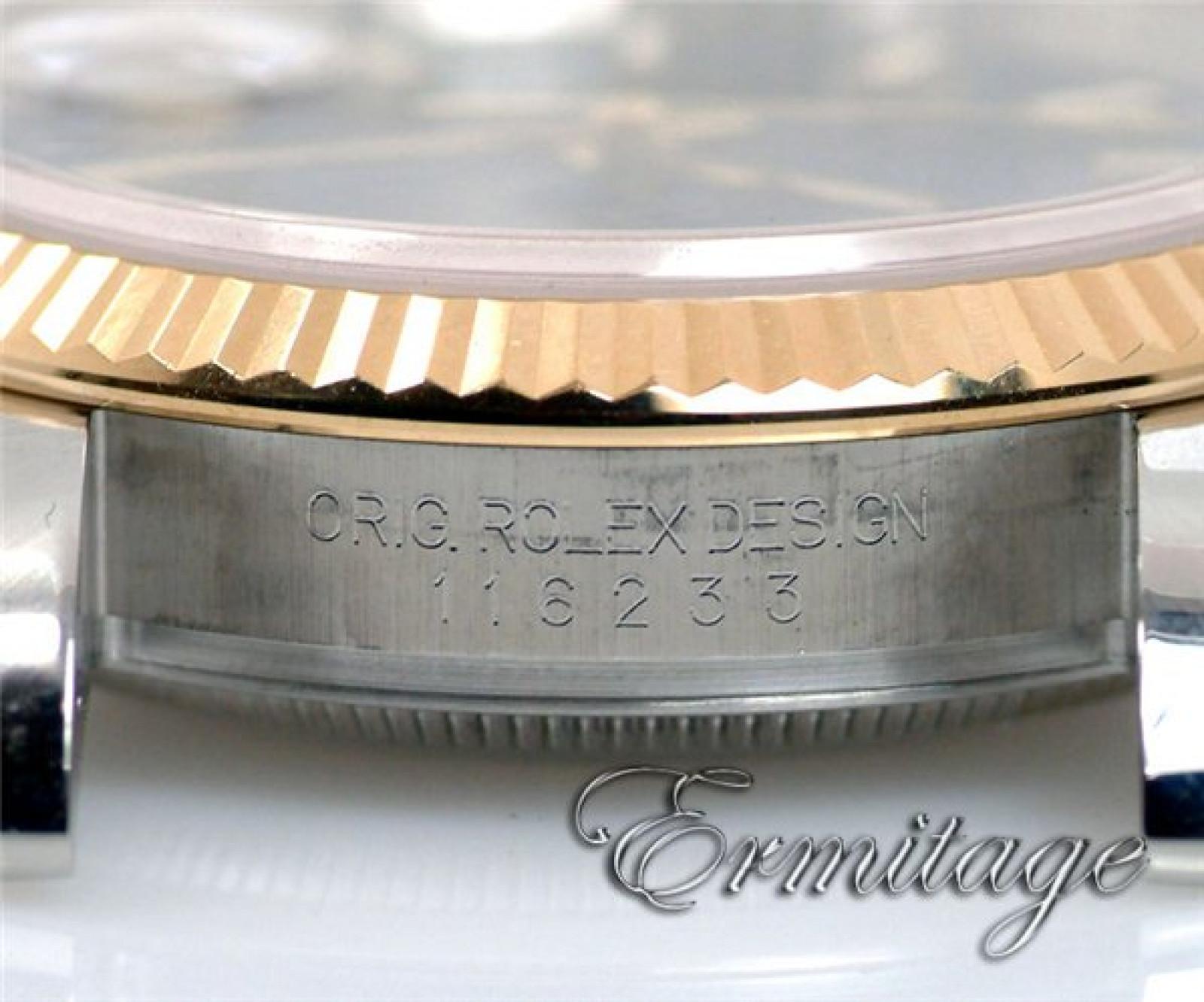 Rolex Datejust 116233 Gold & Steel Blue